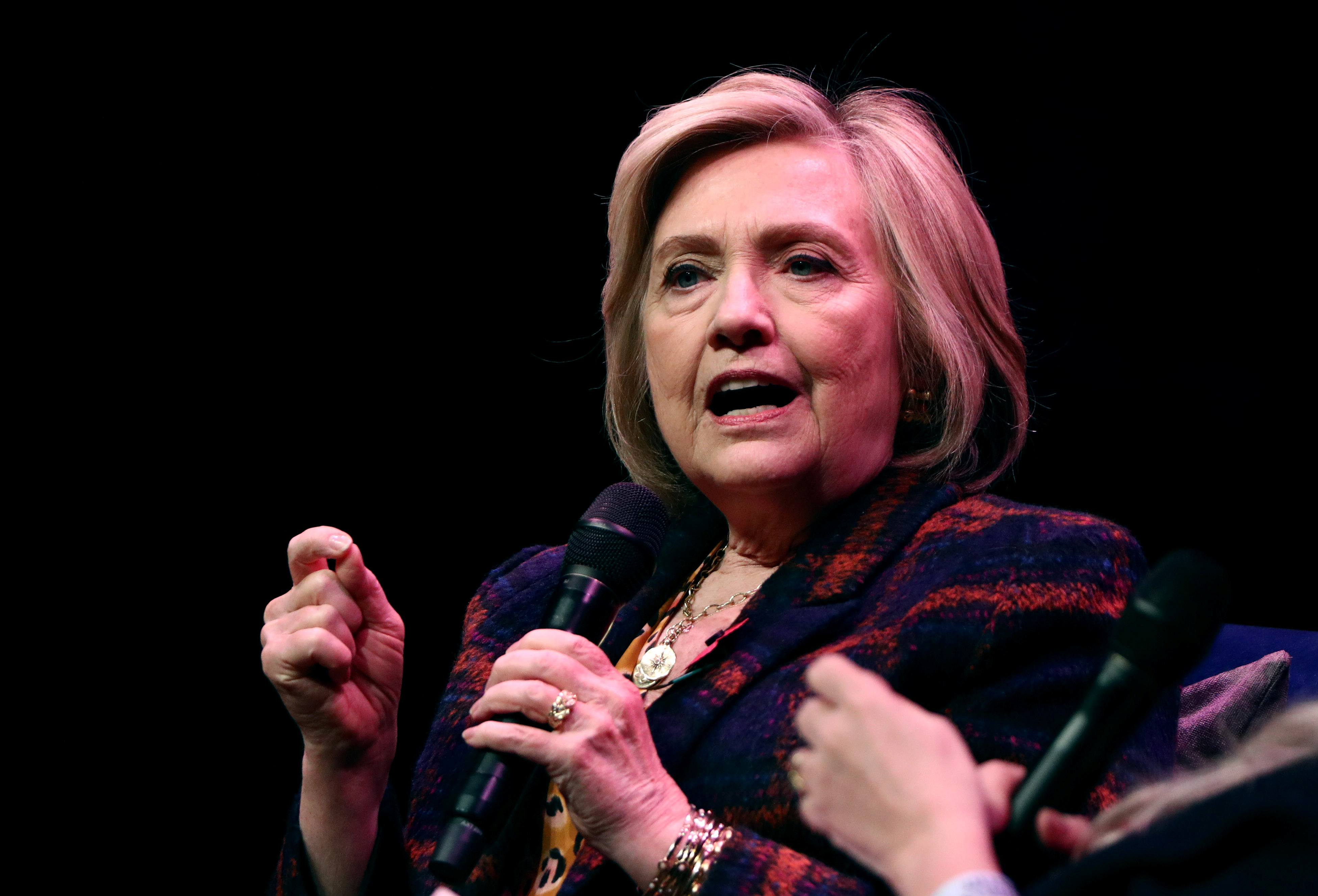 'Shameful' of UK not to publish report on Russian meddling, says Hillary Clinton