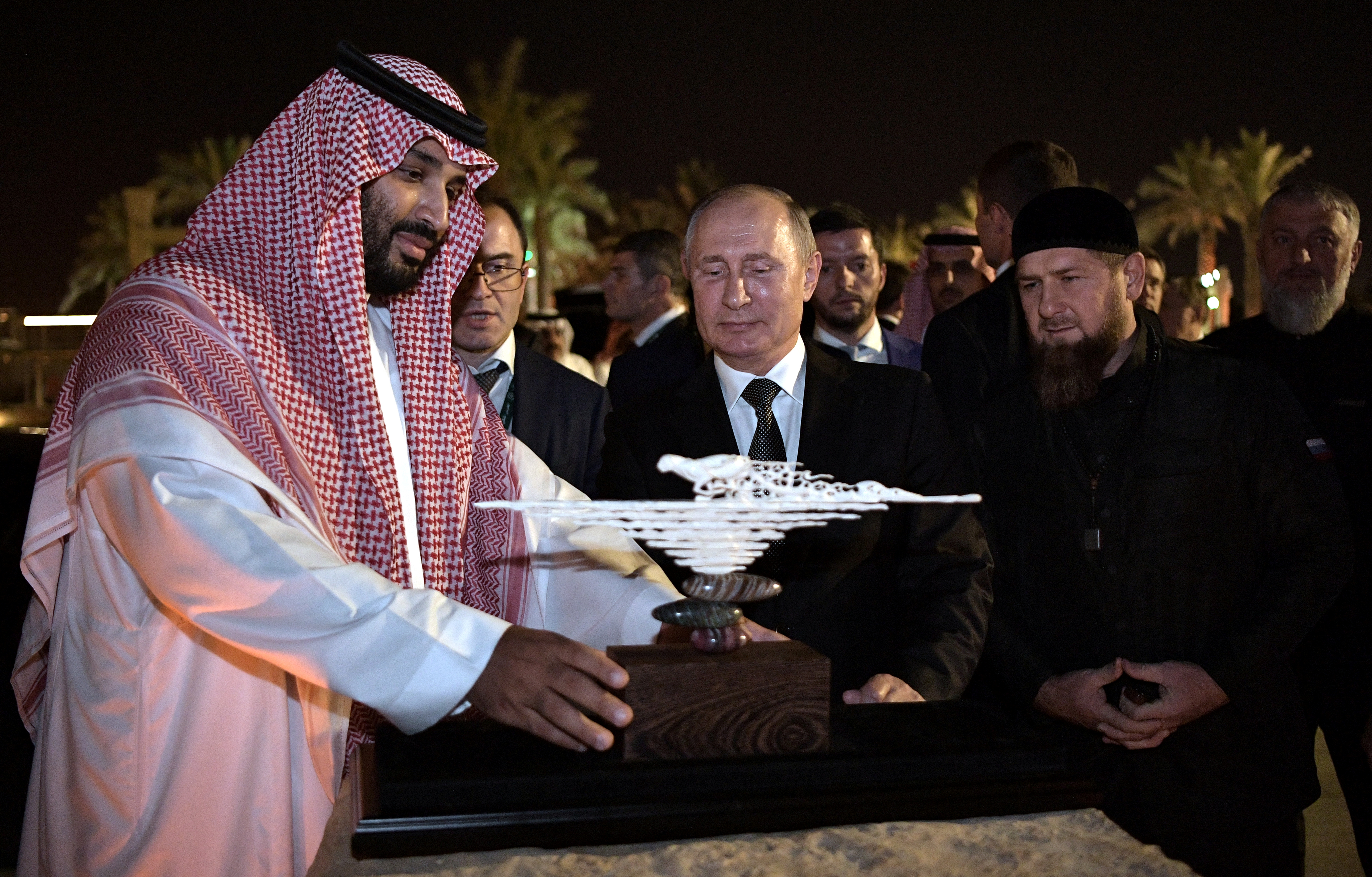 Saudi visit showcases Putin's growing Middle East influence