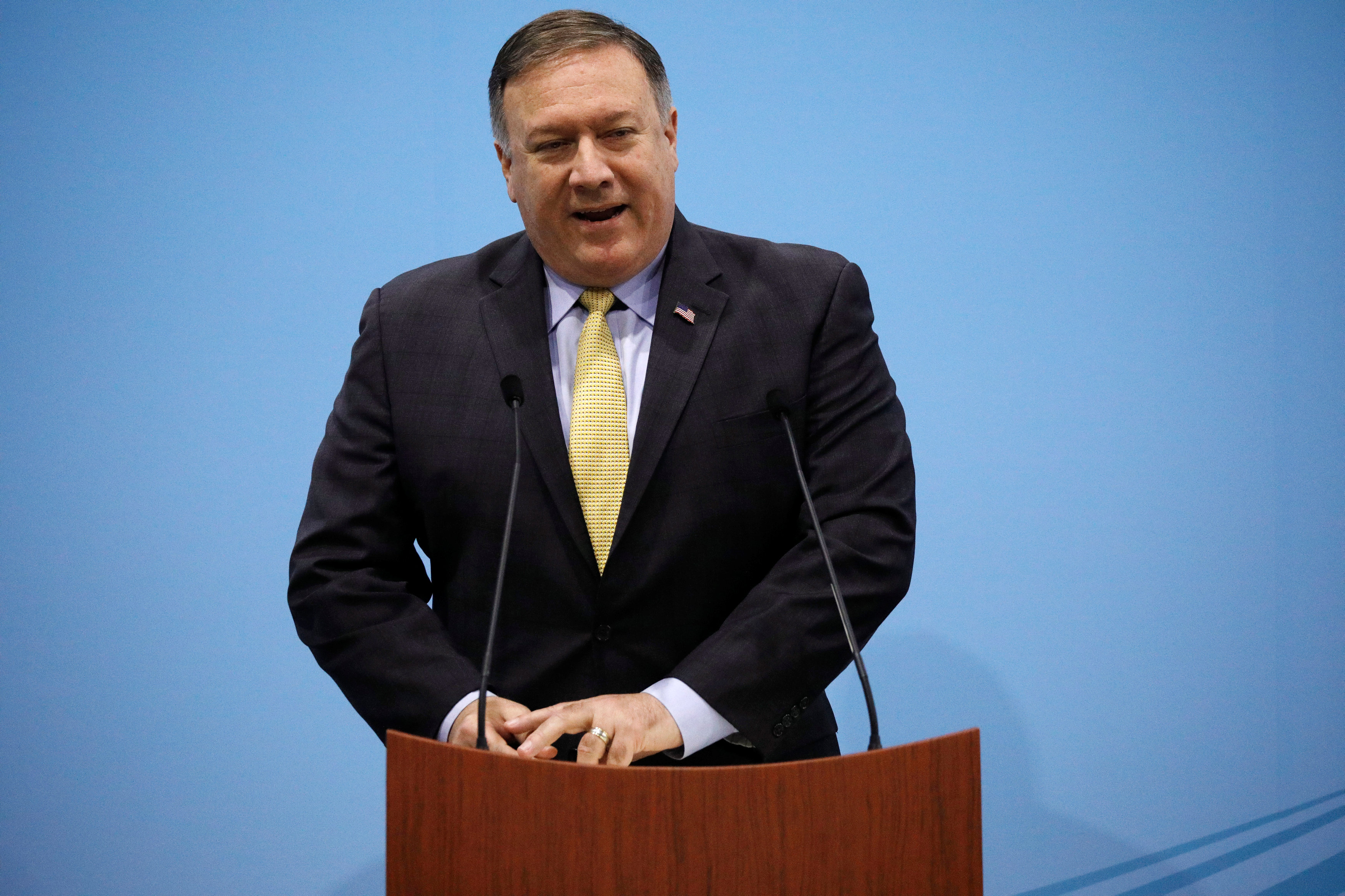 Pompeo decries 'abhorrent ethnic cleansing' in Myanmar on anniversary