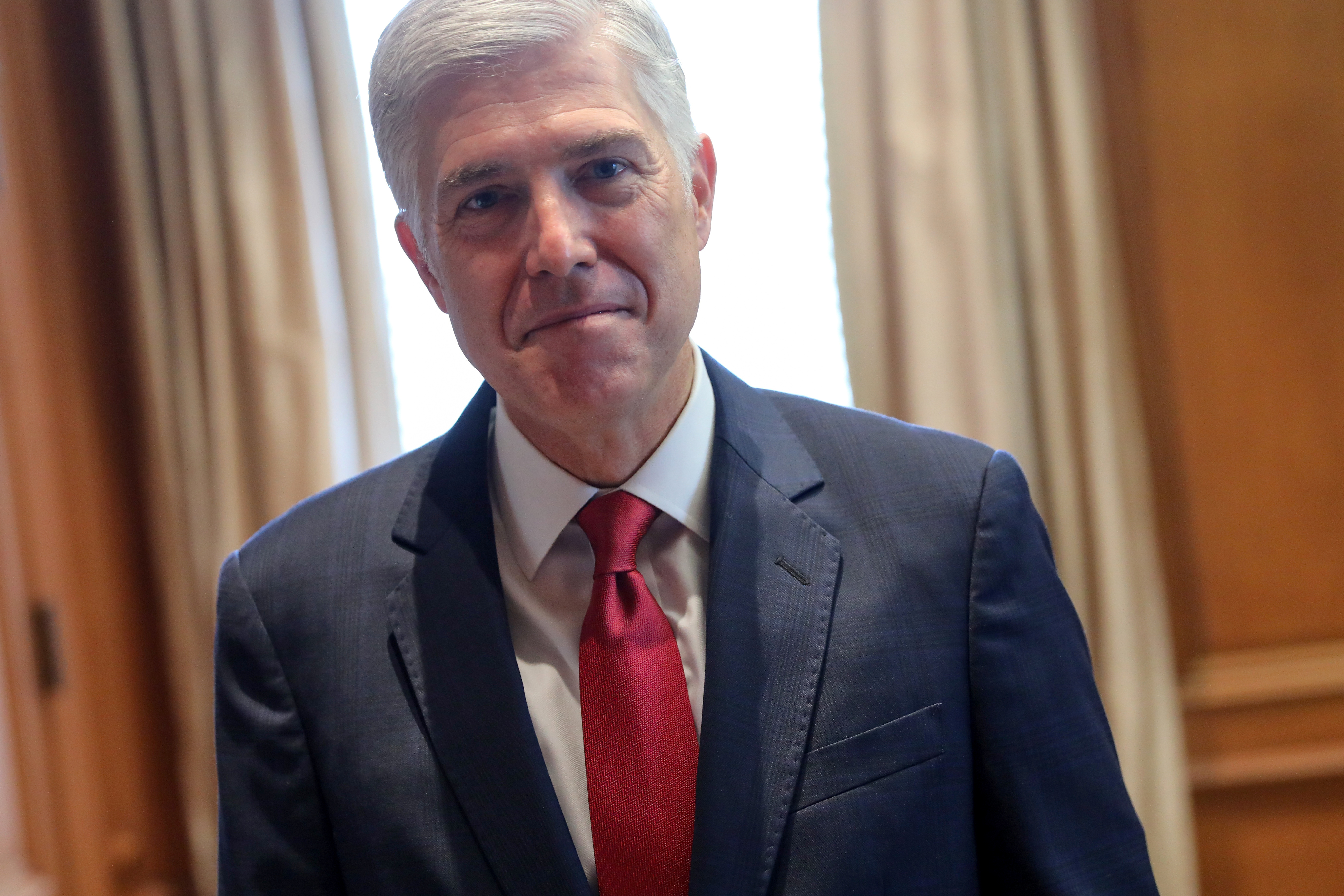 U.S. Justice Gorsuch sees value of immigration through wife's eyes
