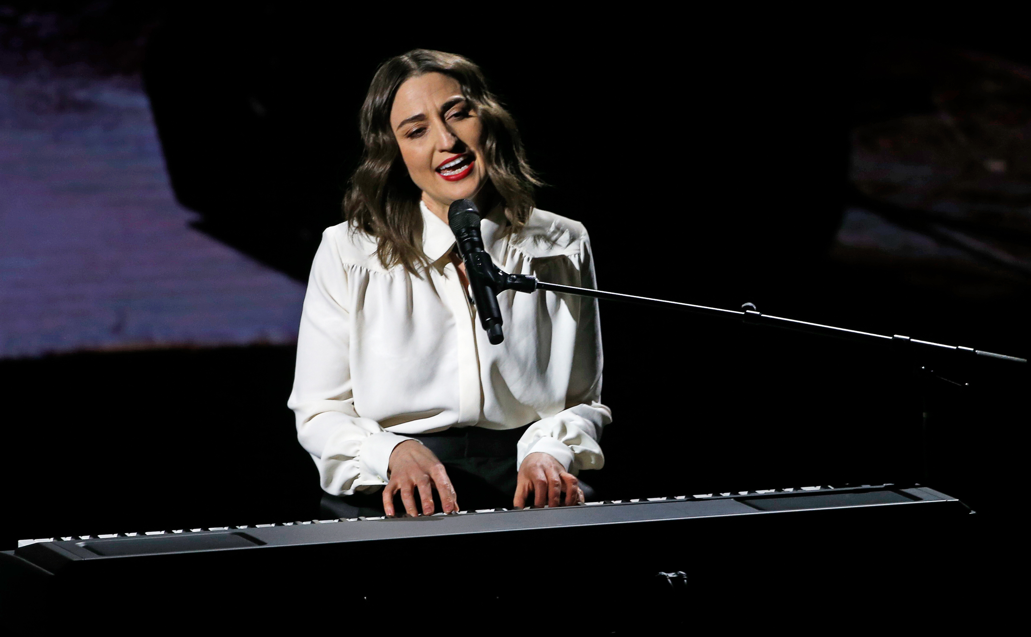 Sara Bareilles: 'I wrote love songs about the Obamas'