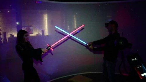 'Star Wars' goes immersive in NY | Reuters Video