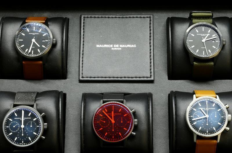 Watchmaker Maurice de Mauriac has a mechanism to avoid supply crunch