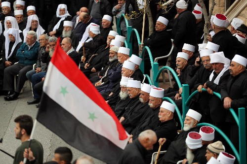 Druze protest Trump's backing of Israeli sovereignty on Golan