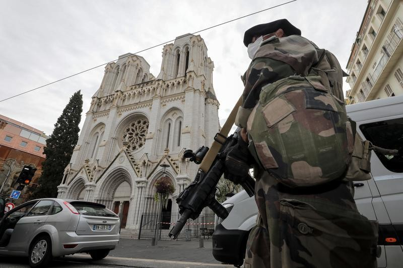 Tunisian man beheads woman, kills two more people in Nice church