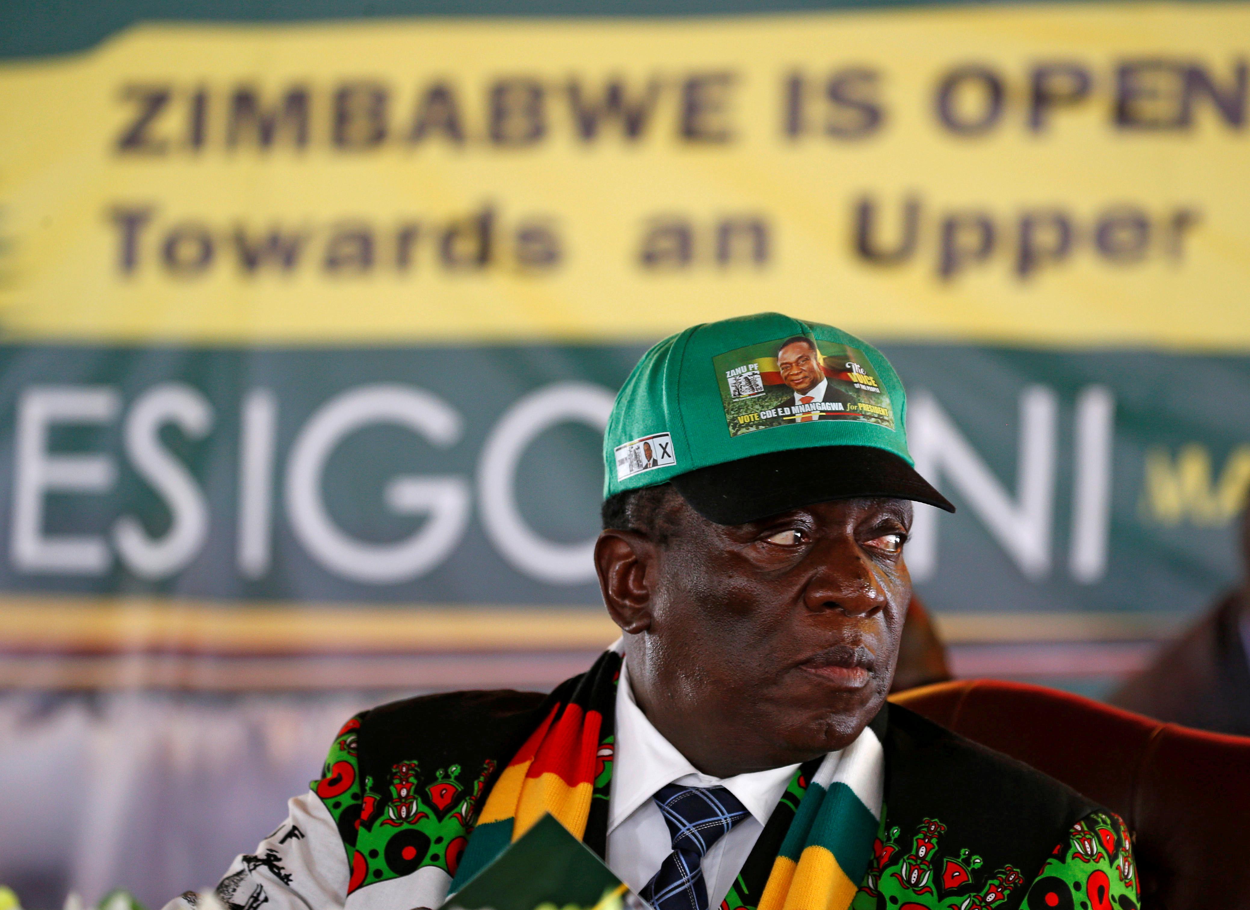 Four Zimbabwe generals retired in Mnangagwa's first purge of military