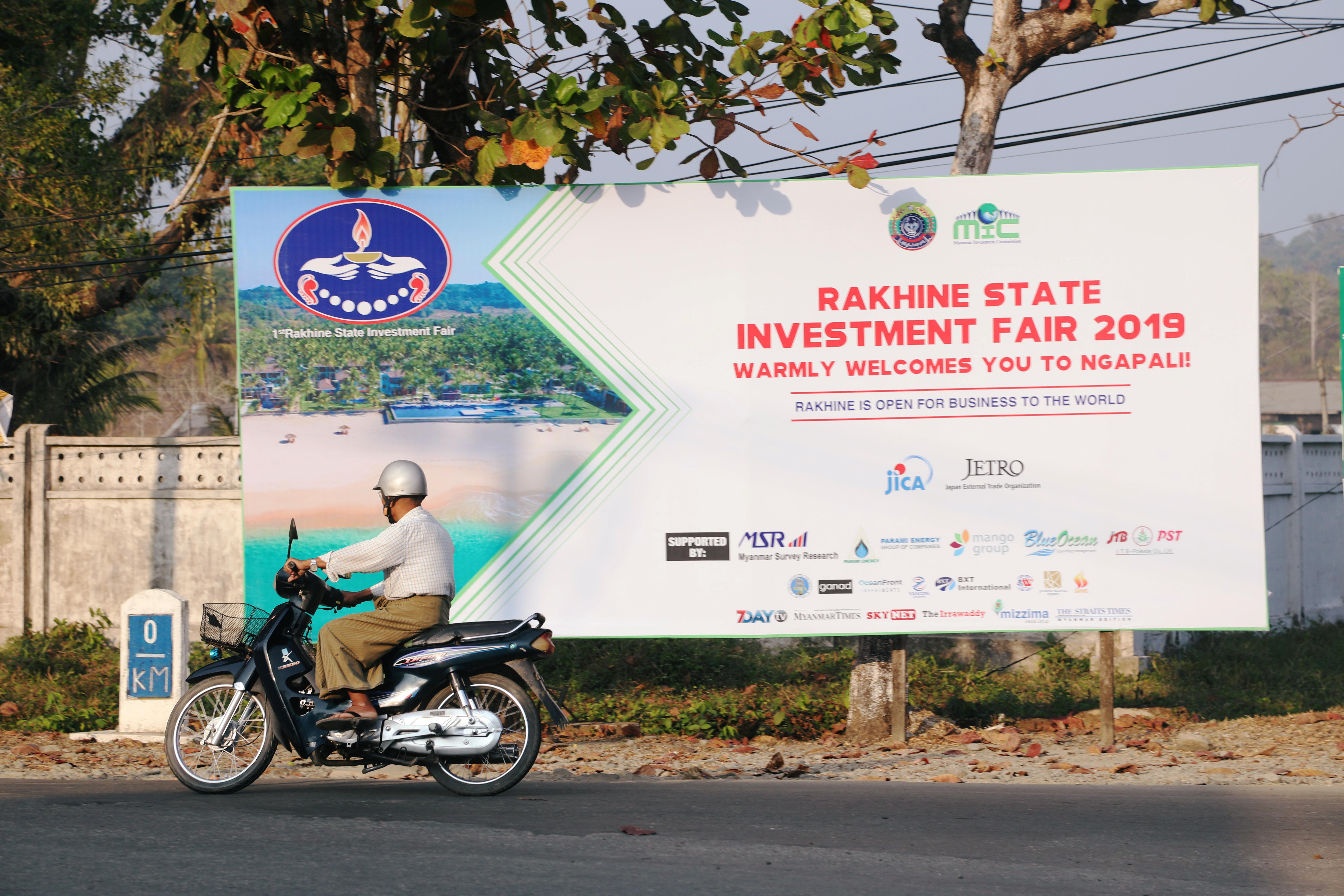 'Tarnished image': Myanmar touts troubled Rakhine as investment destination