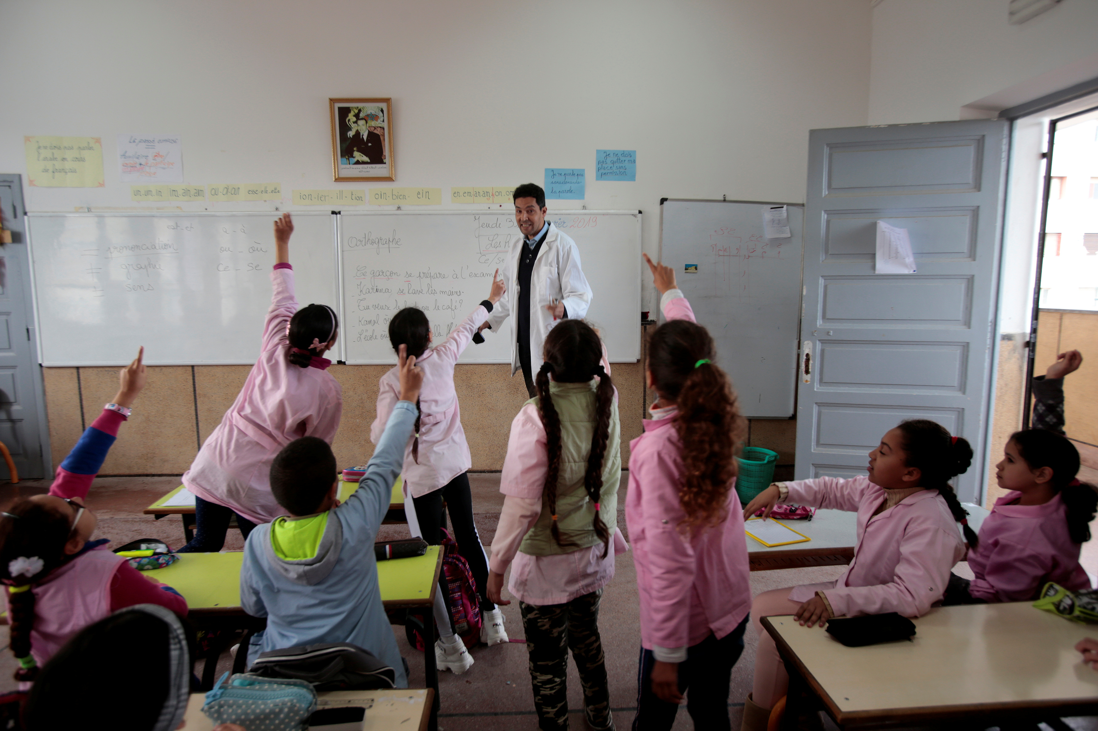 Morocco looks to French as language of economic success