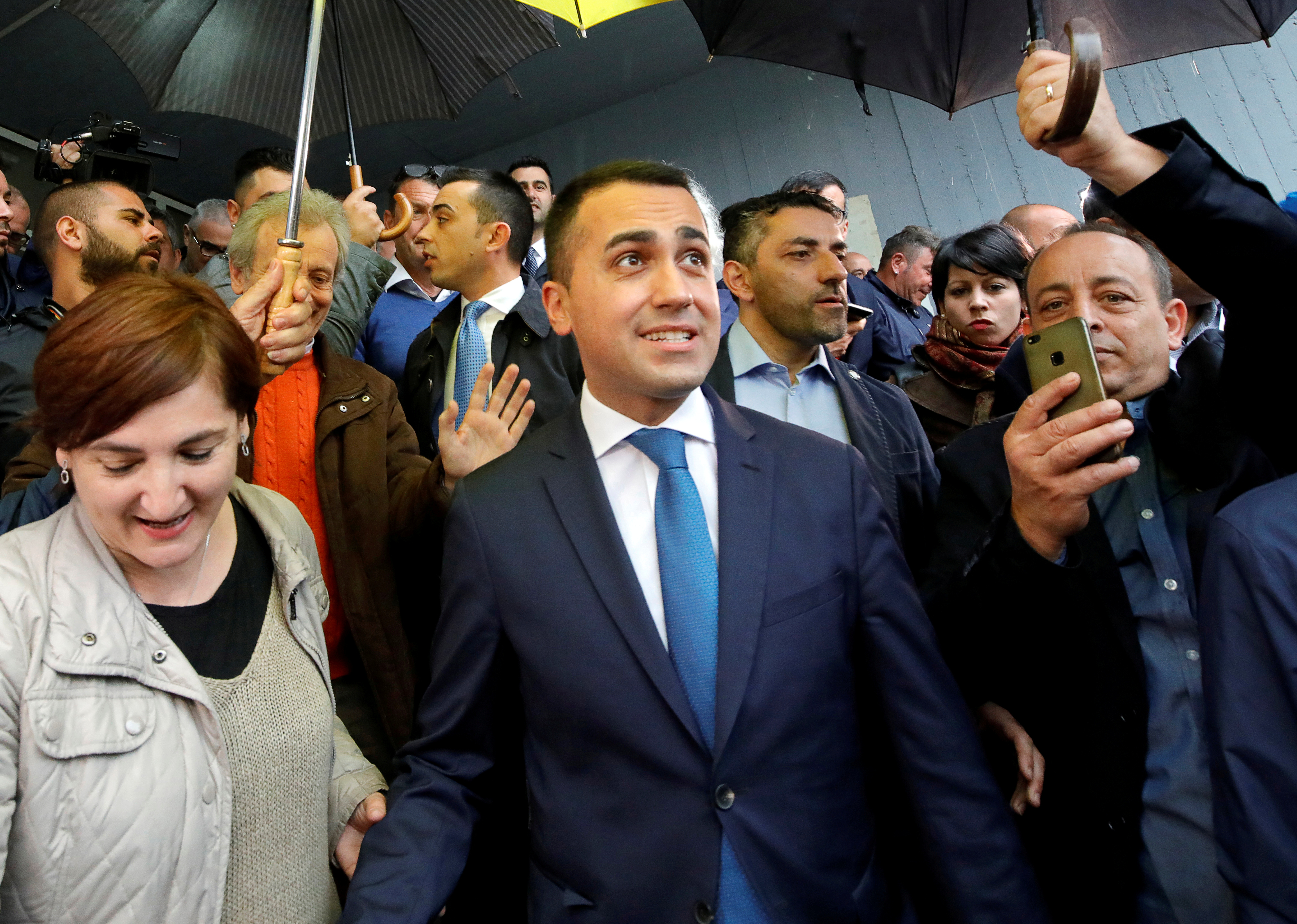 Italy's Deputy PM Di Maio rules out government reshuffle: paper