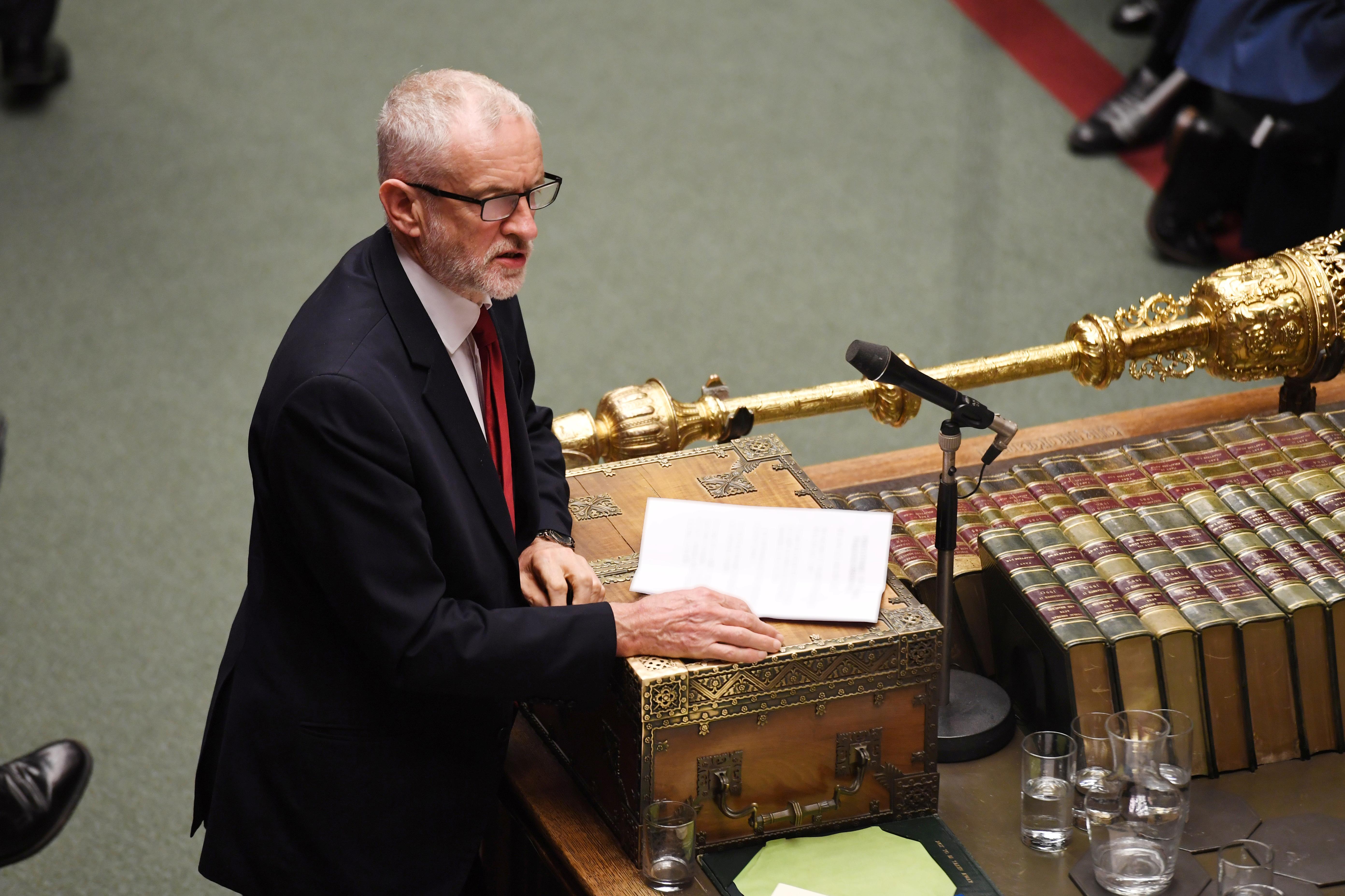 Britain's Corbyn meets PM Johnson to discuss Brexit timetable: Labour source
