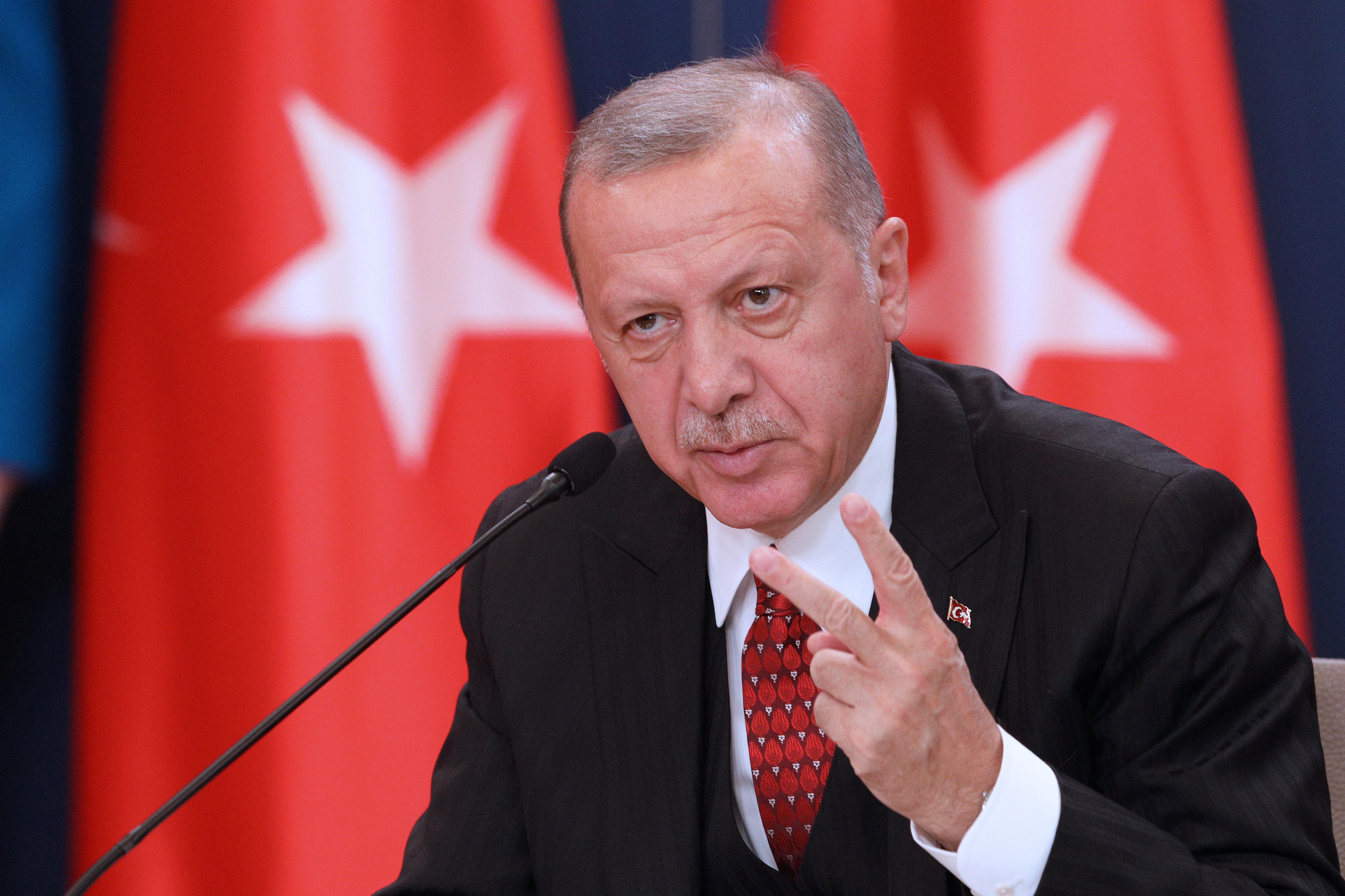 Turkey's Erdogan says alternatives to F-35 jets ready, receiving offers