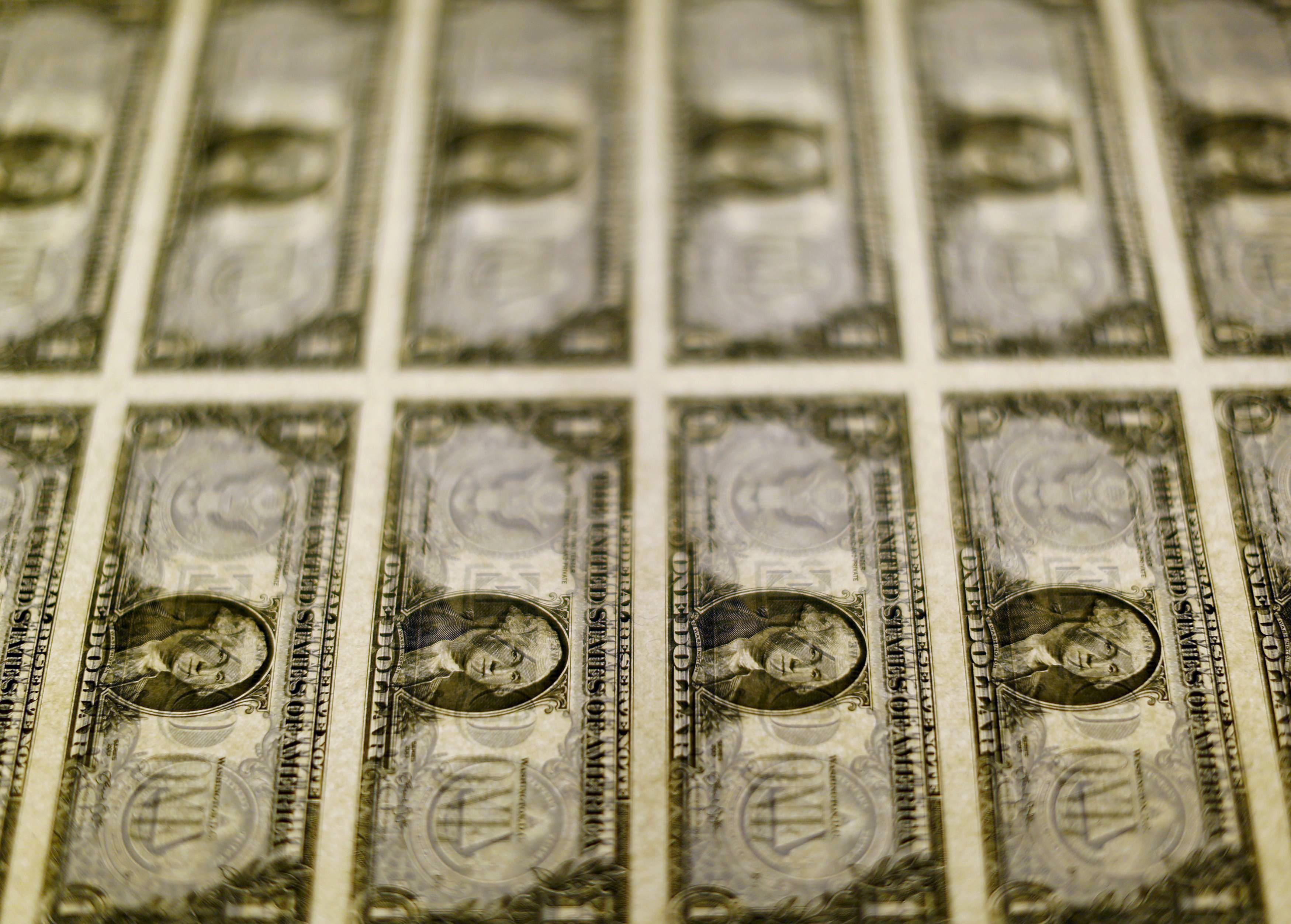 Dollar near two-week high before Fed as dovish ECB supports
