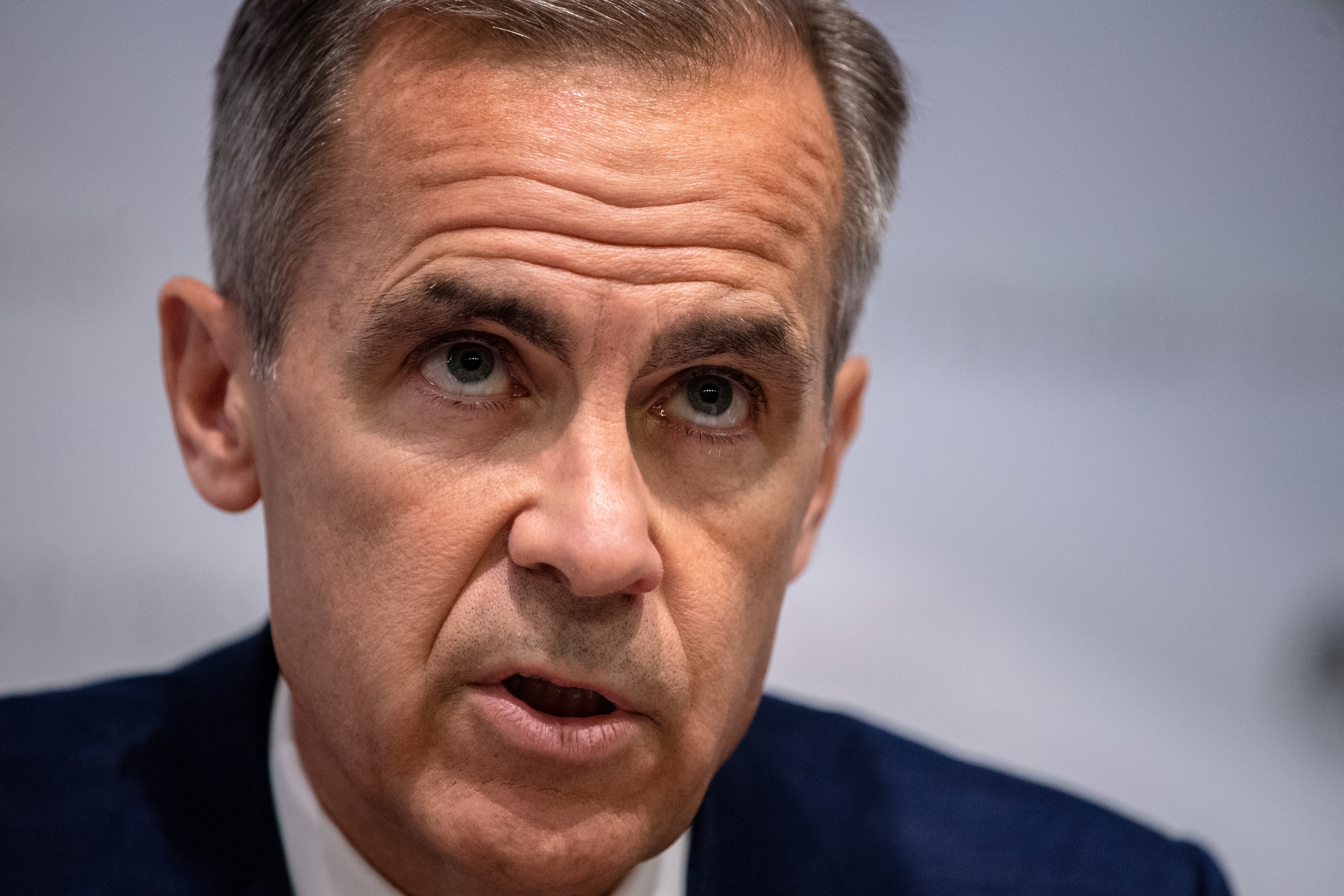 UK data show economy a bit weaker than expected: Carney