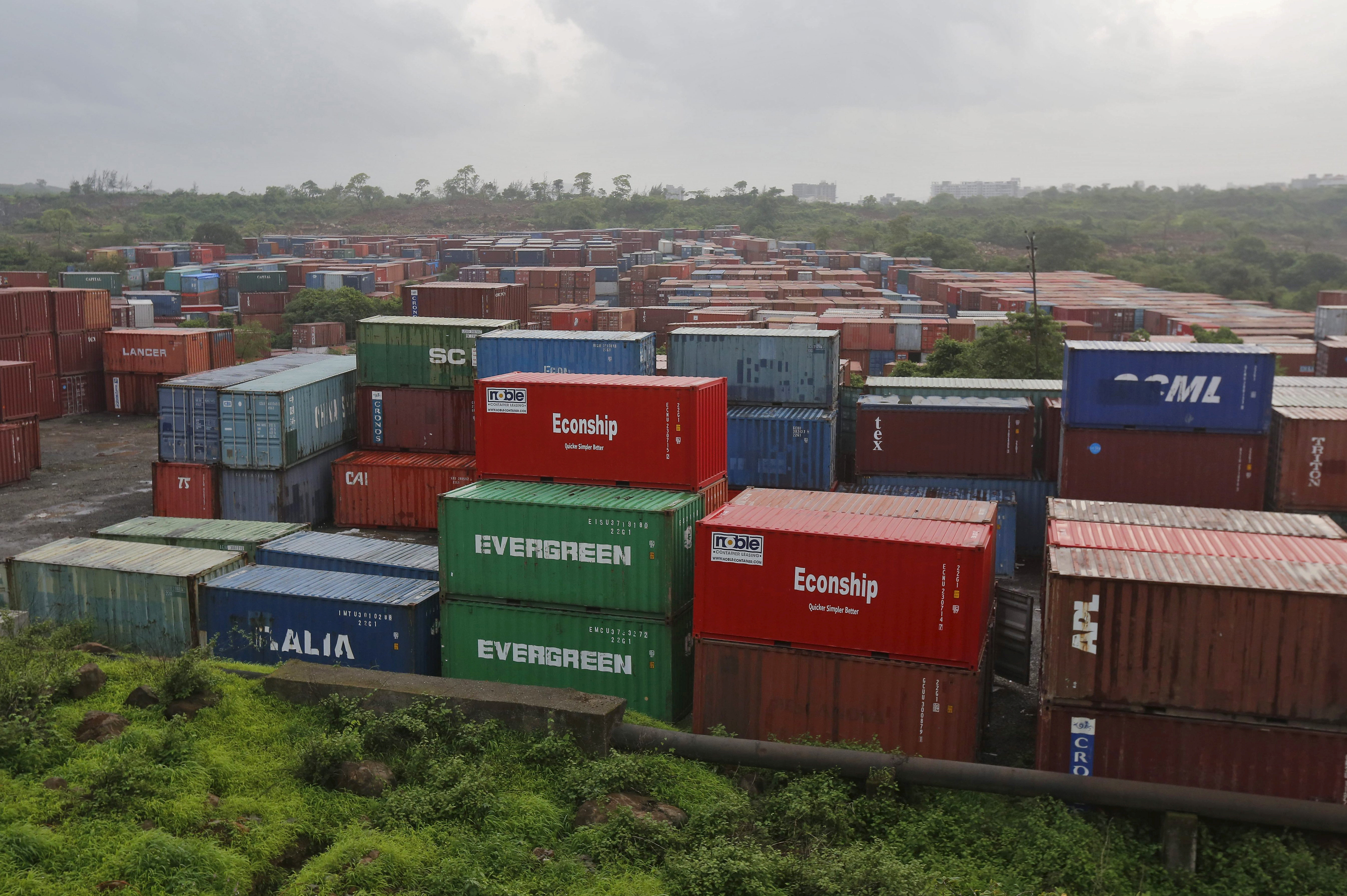 India's August trade deficit narrows to $13.45 billion