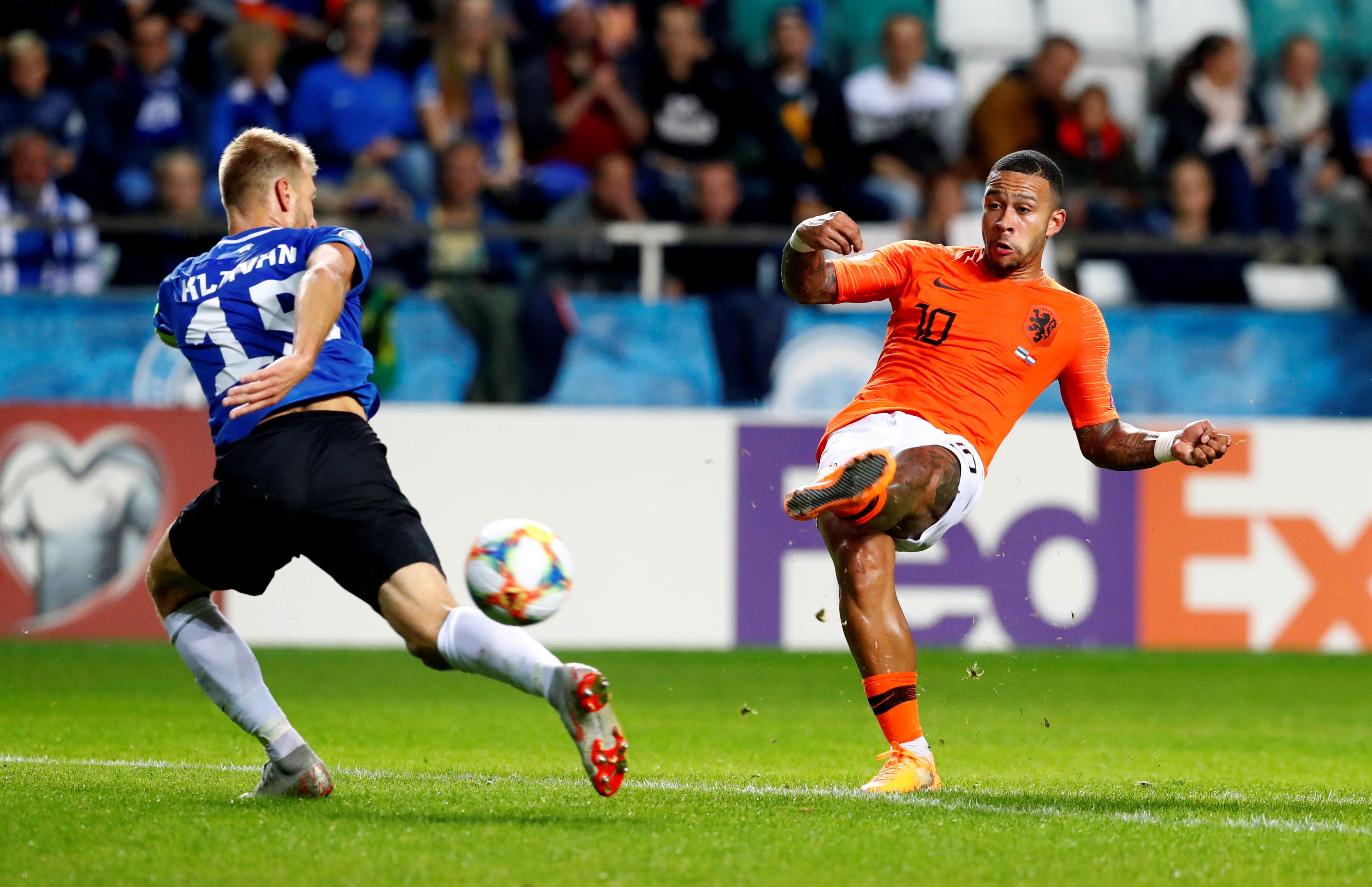 Soccer: Babel's brace spurs Netherlands to 4-0 win in Estonia
