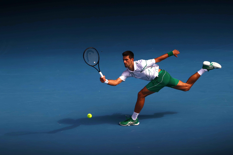 Defending champion Djokovic into quarter-finals at a canter