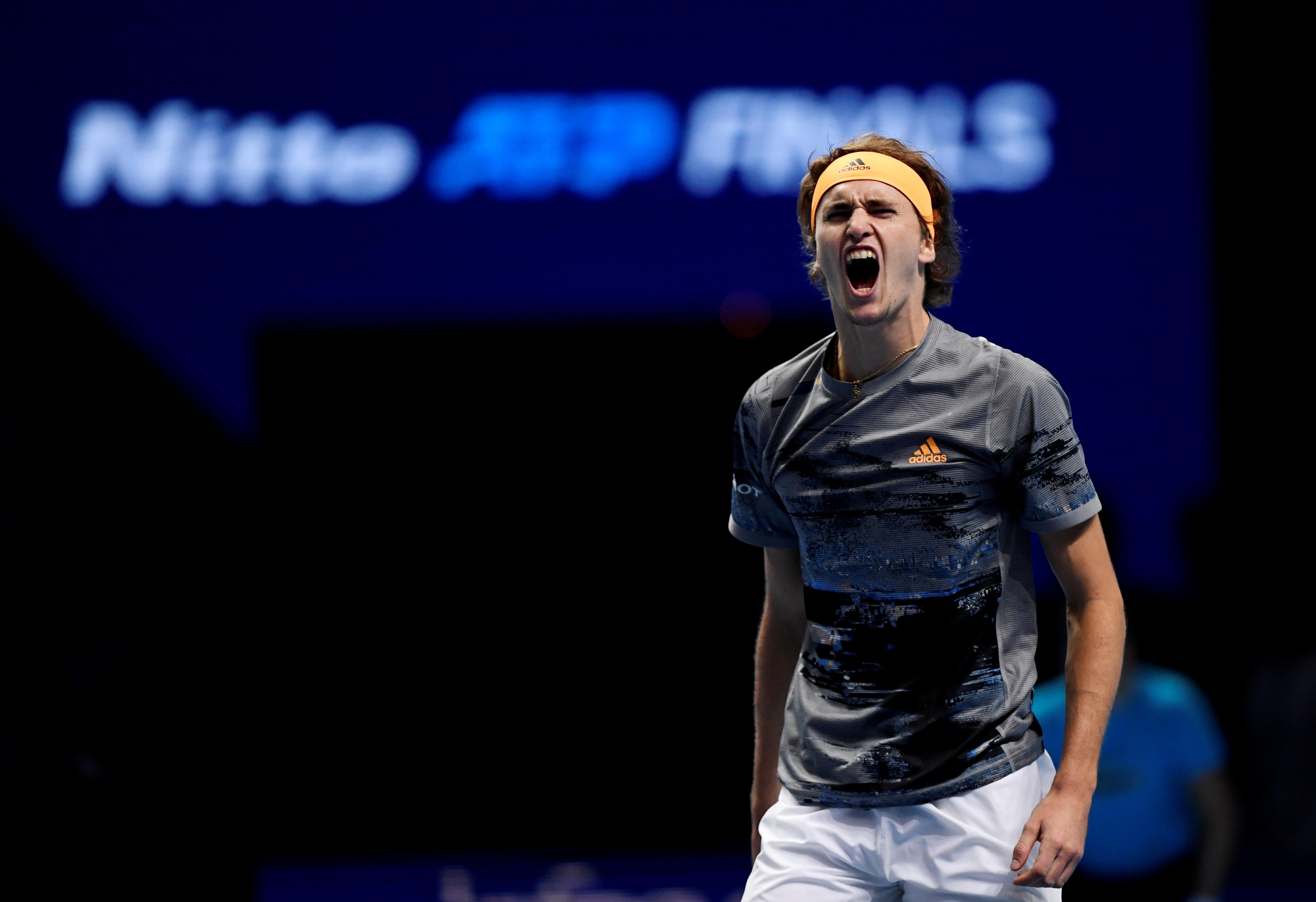 Sparkling Zverev tastes first victory over Nadal