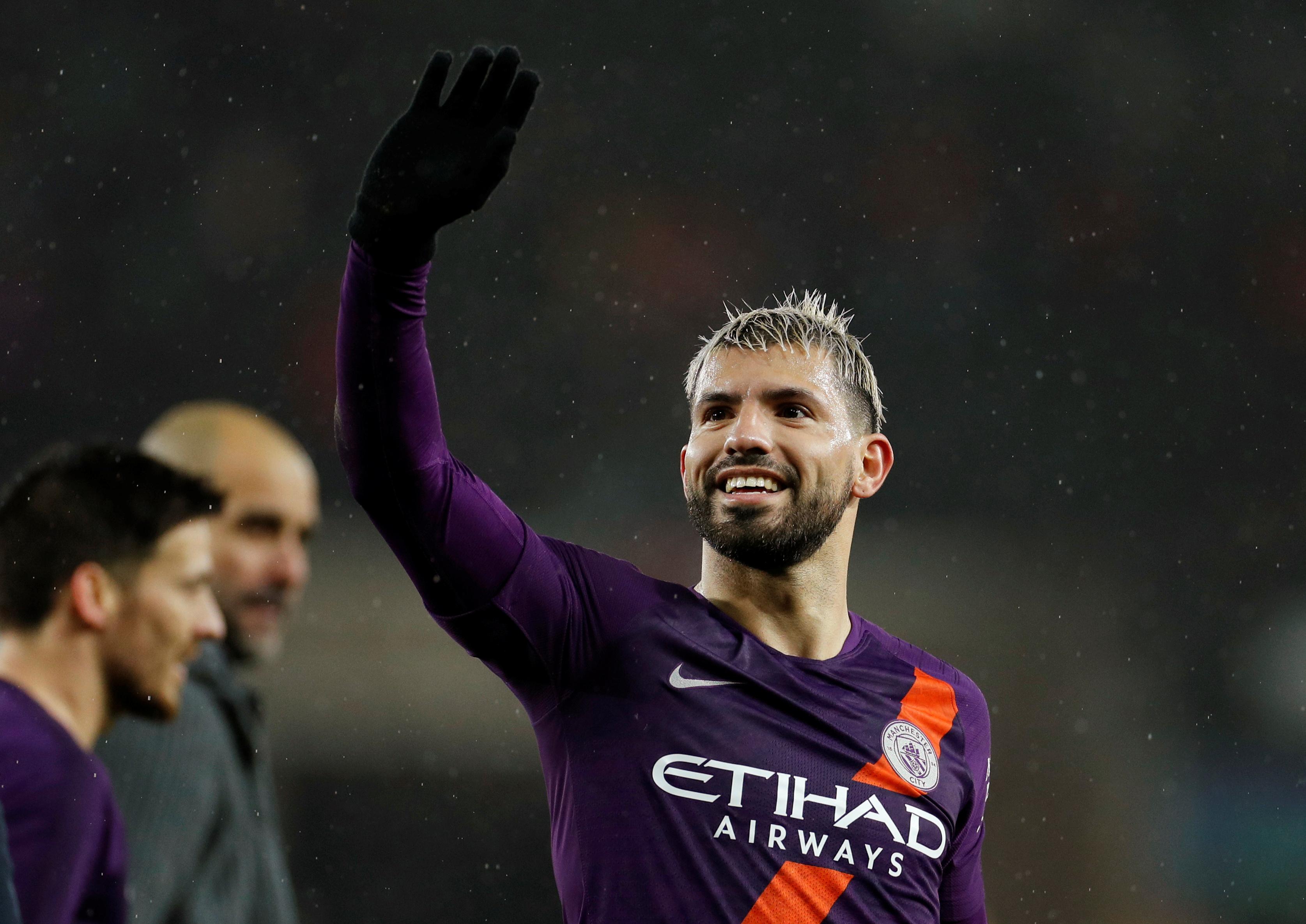 Soccer: Three Manchester City players make six-man shortlist for PFA award
