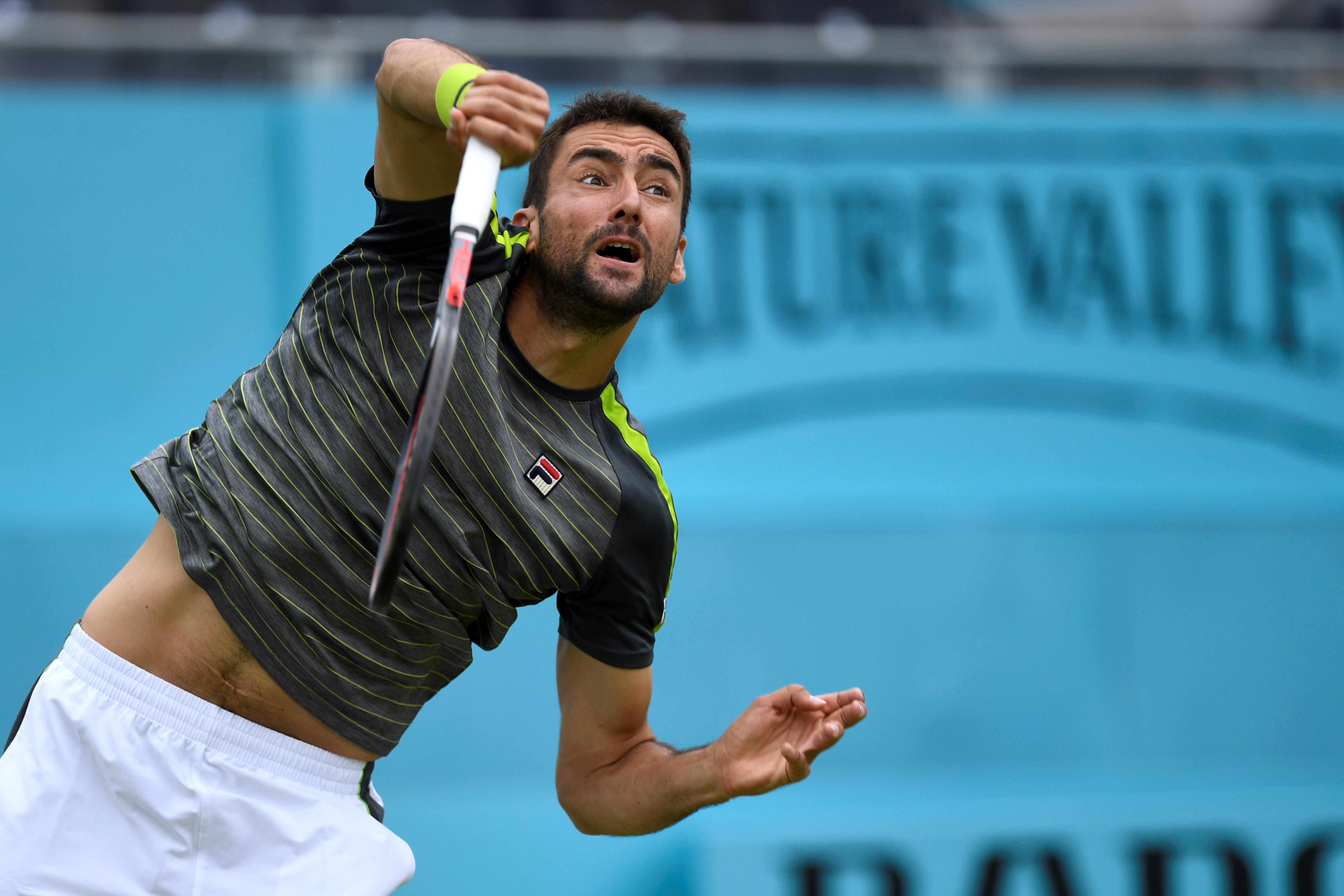Tennis: Cilic offers Nadal a Wimbledon reality check