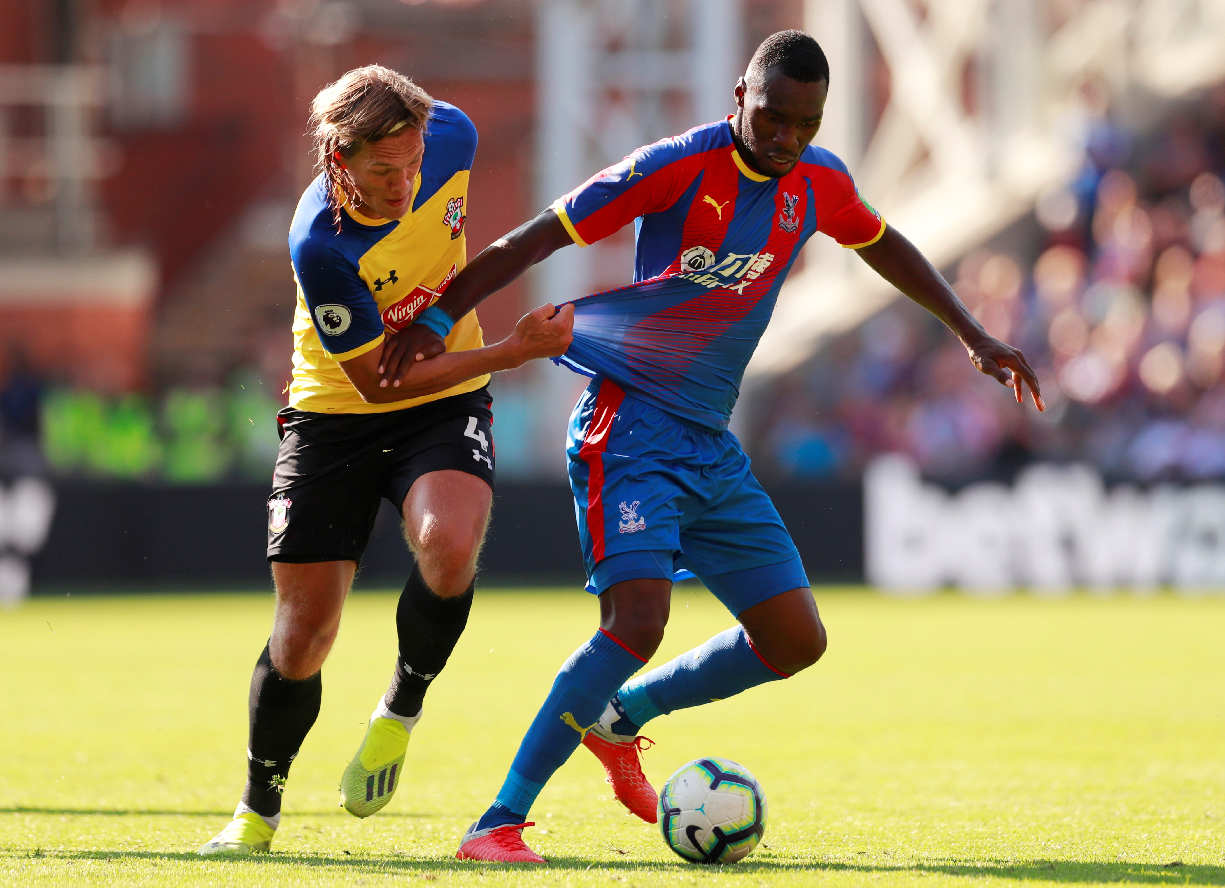Soccer - Benteke out until 2019, says Crystal Palace boss