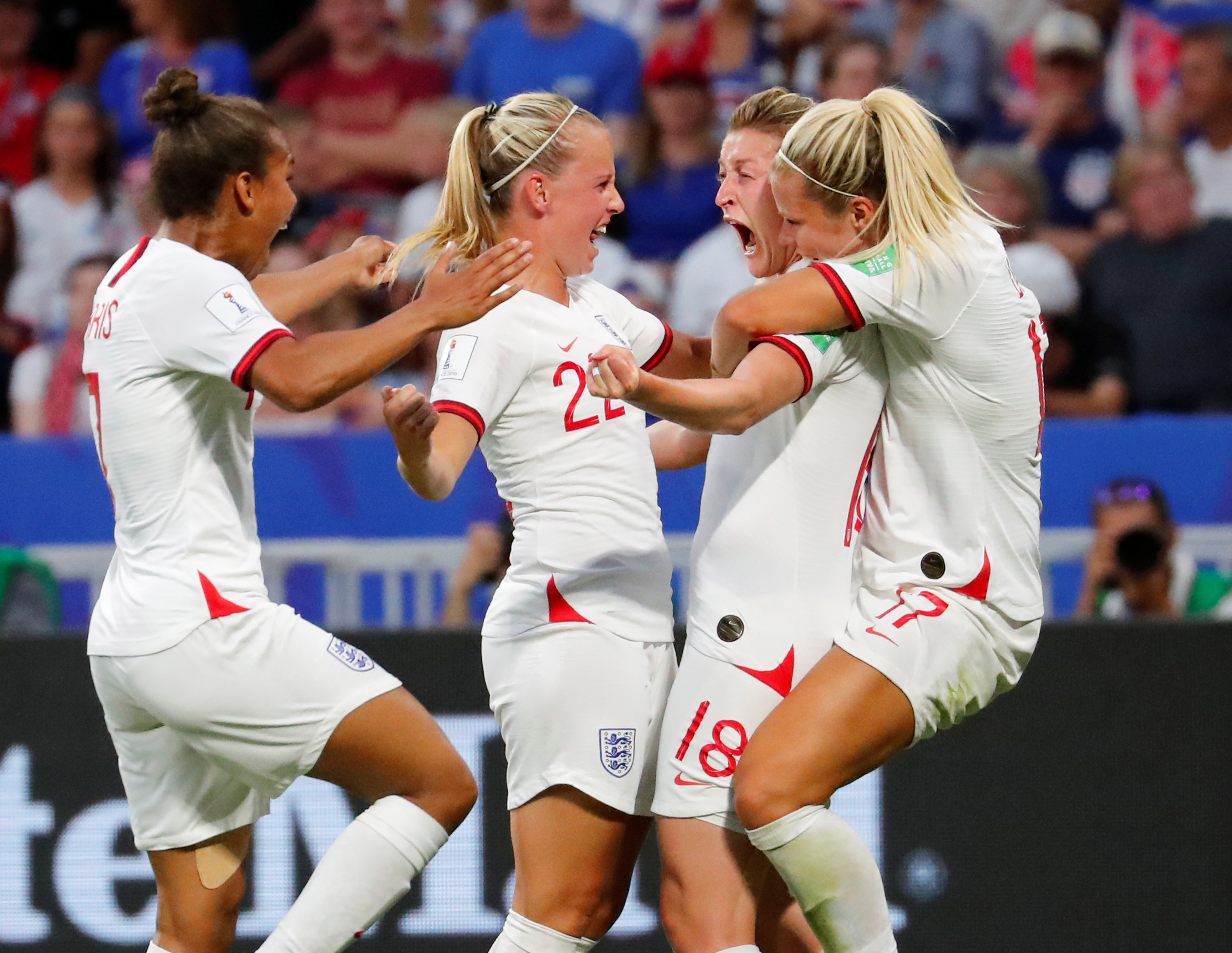 Soccer: England women set for record crowd at Wembley