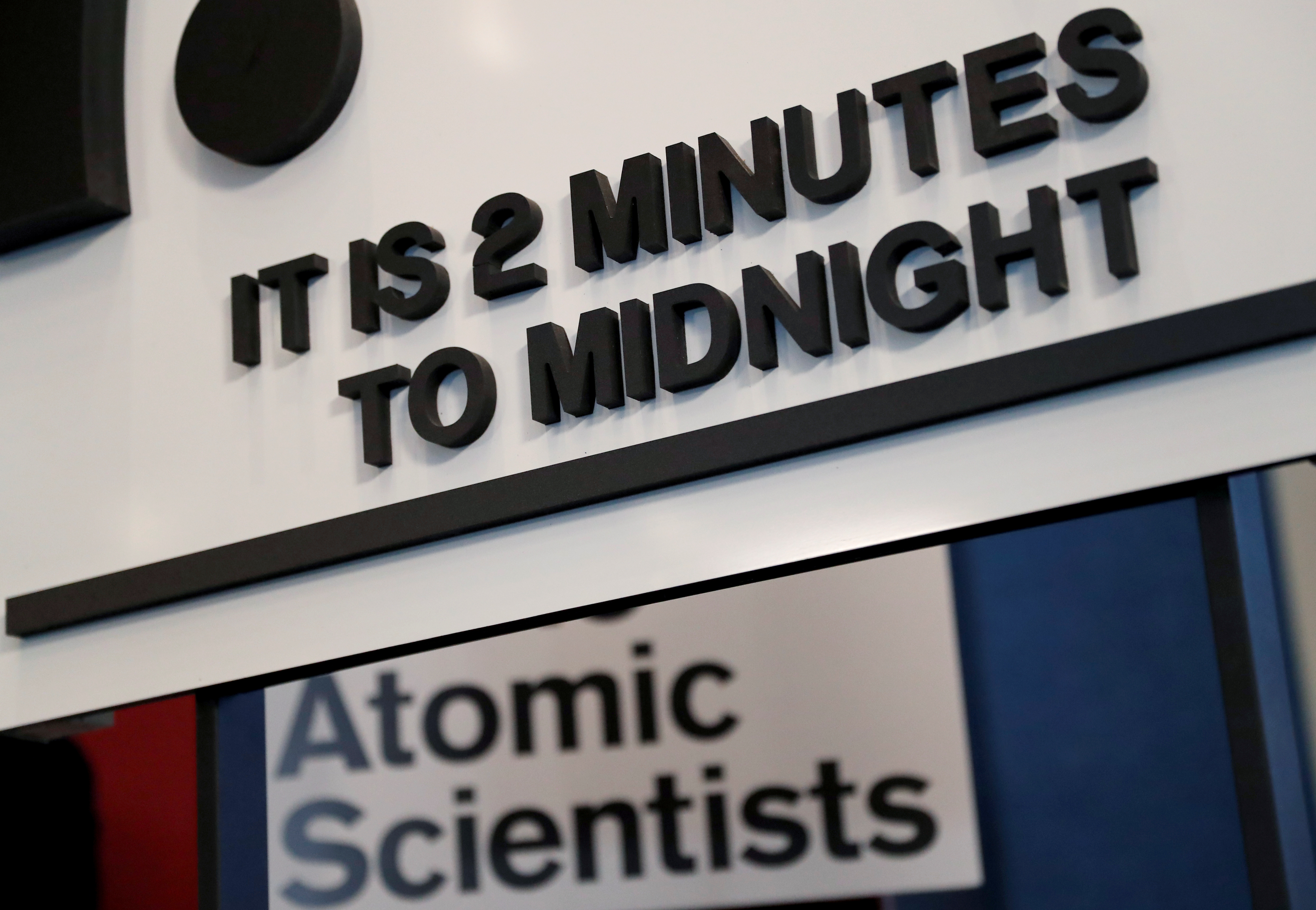Nuclear, climate threats keep Doomsday Clock close to apocalypse