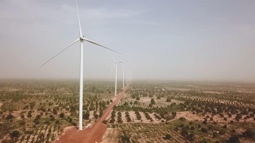 The challenges of building West Africa's largest wind farm | Reuters Video