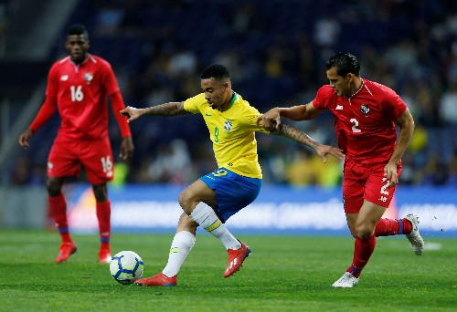 Soccer: Brazil held 1-1 by Panama in lacklustre friendly