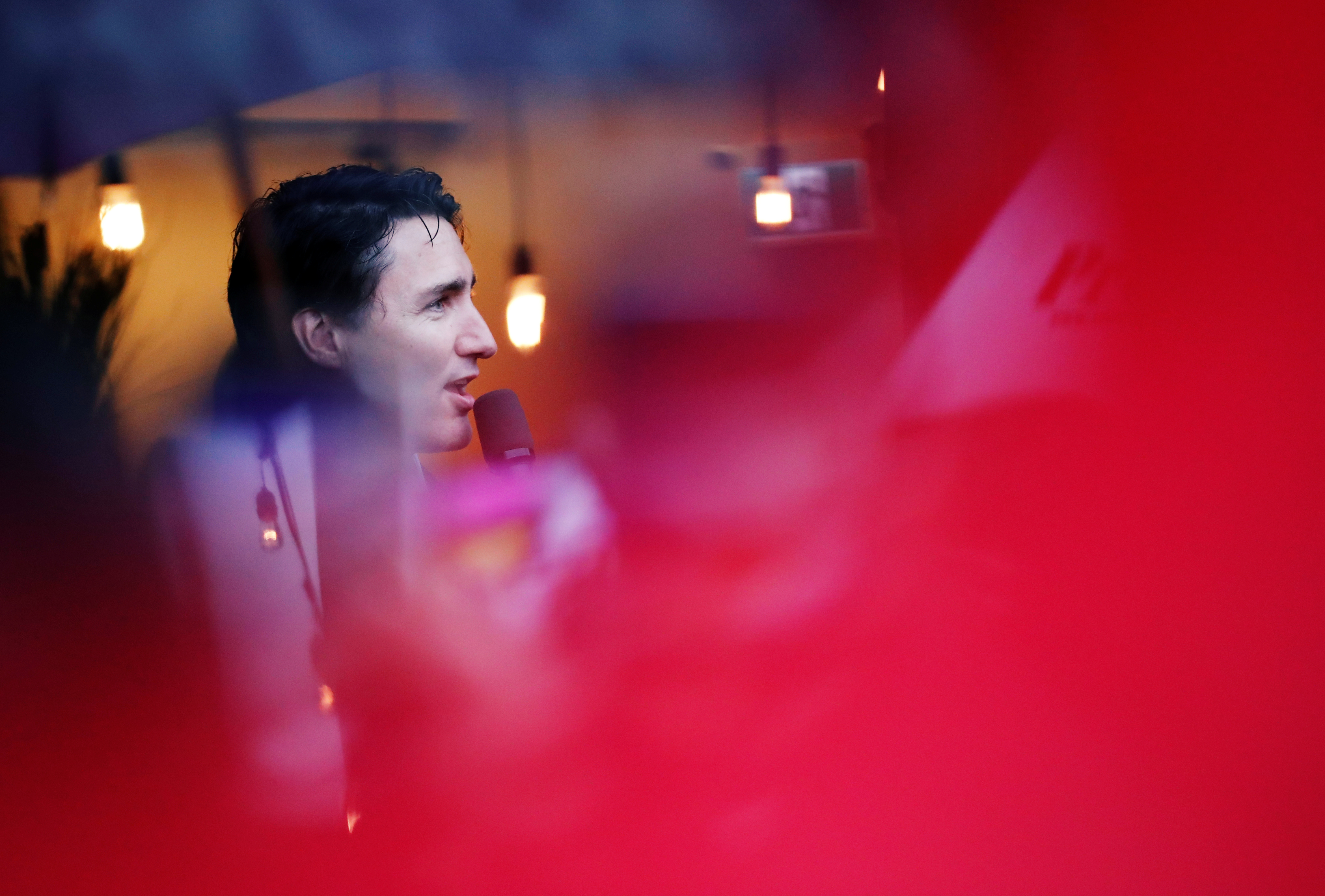 Battered Trudeau team sees sign of Canadian election hope after scandals