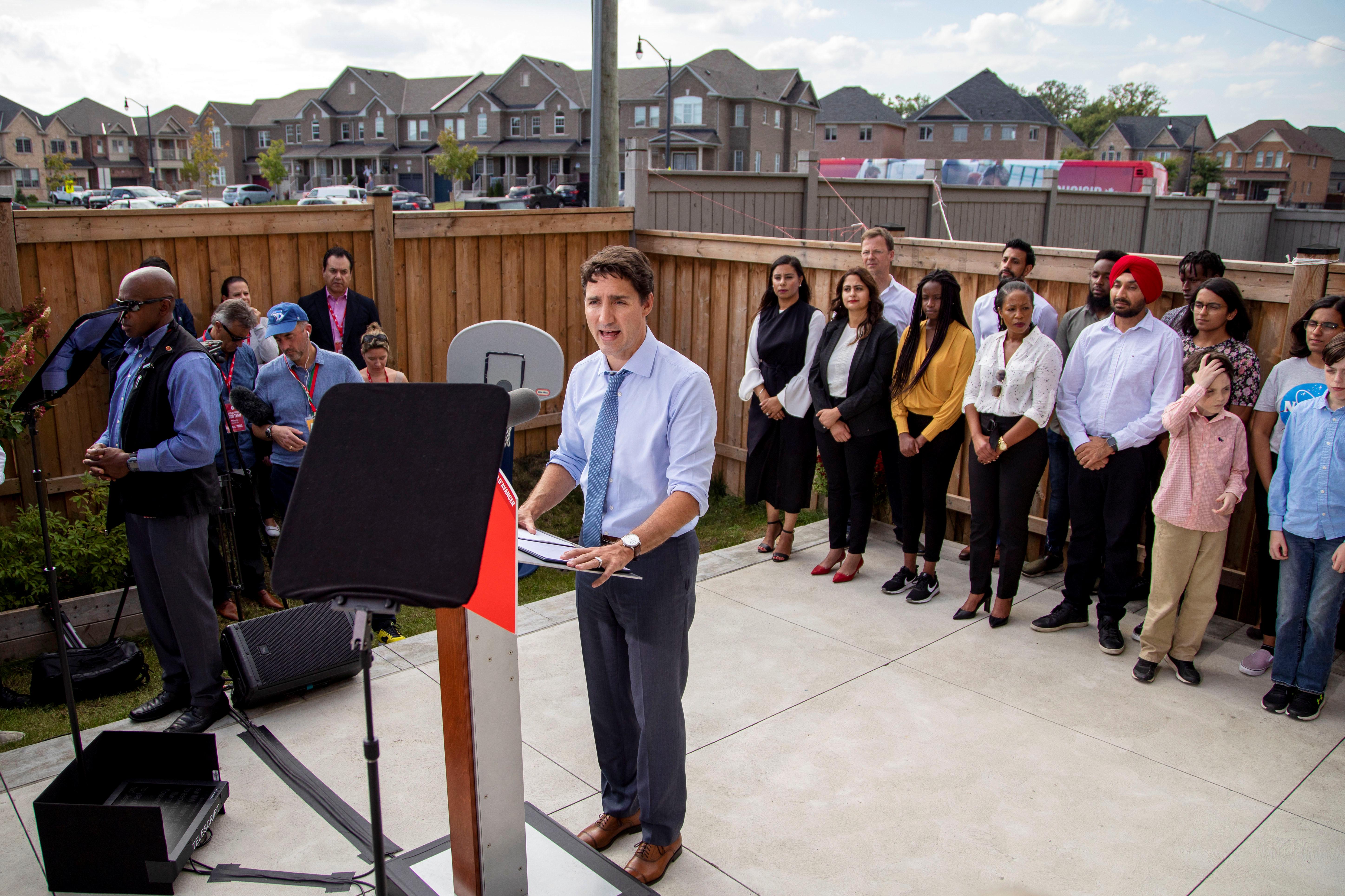Weird jokes, objectionable attire trip up Canada's Trudeau again