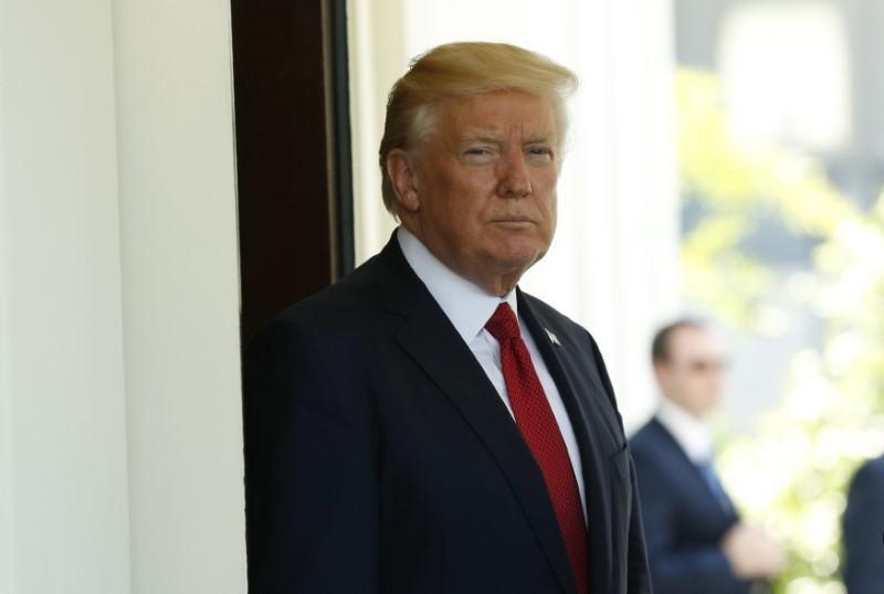 Trump denies asking Comey to drop probe, decries 'witch hunt'