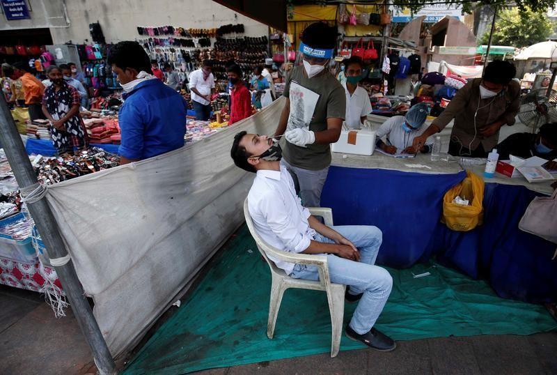 India's coronavirus cases tally hits 7.8 million