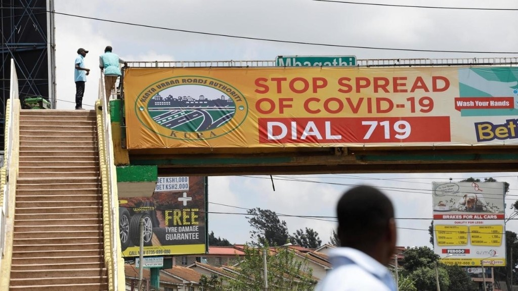 Coronavirus: l'Afrique face à la pandémie lundi 6 avril