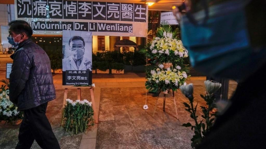 Coronavirus en Chine: la veuve du docteur Li Wenliang sort du silence