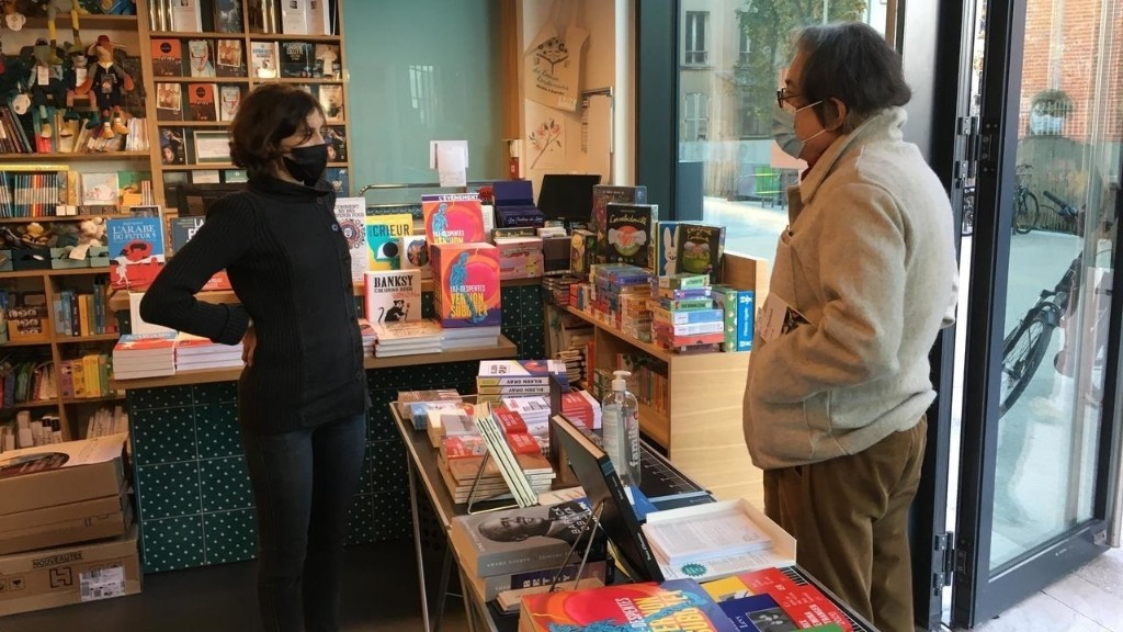 French bookshops become symbol of culture resistance during Covid lockdown