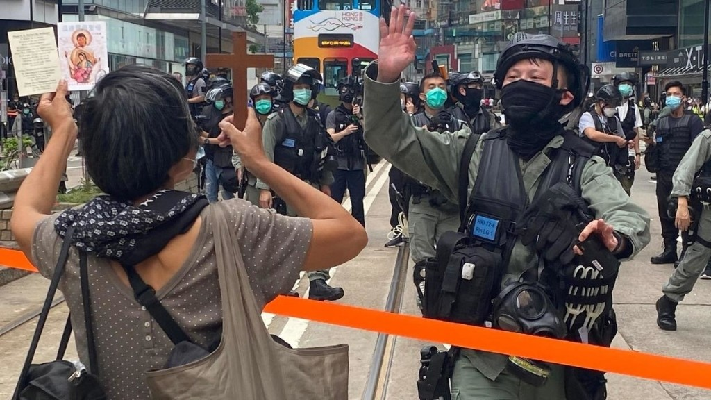 Hundreds arrested in Hong Kong protests against China National Security Law