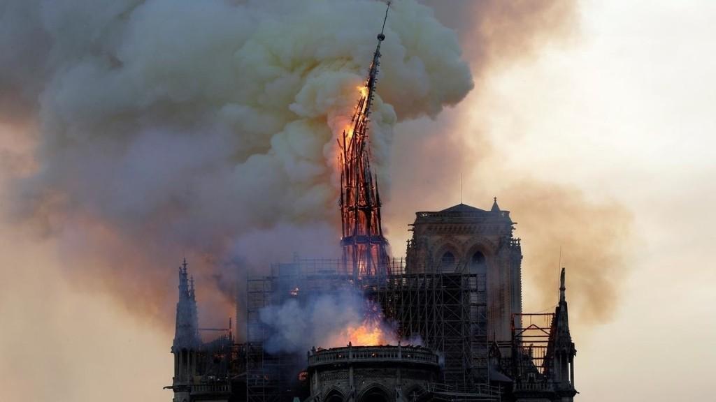 Un an après l'incendie de Notre-Dame, le chantier de la cathédrale en suspens