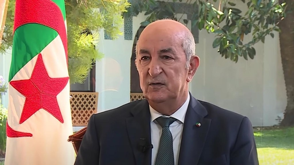 Algeria 'waiting' for apology over colonial occupation by France, president says [Video]
