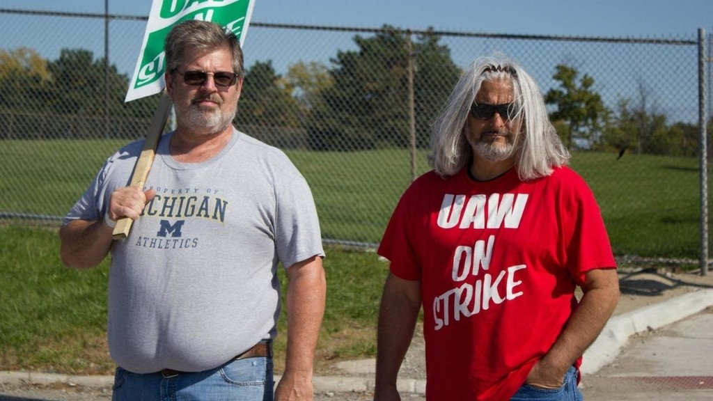 [Reportage] À Détroit, les grévistes de General Motors montent au front