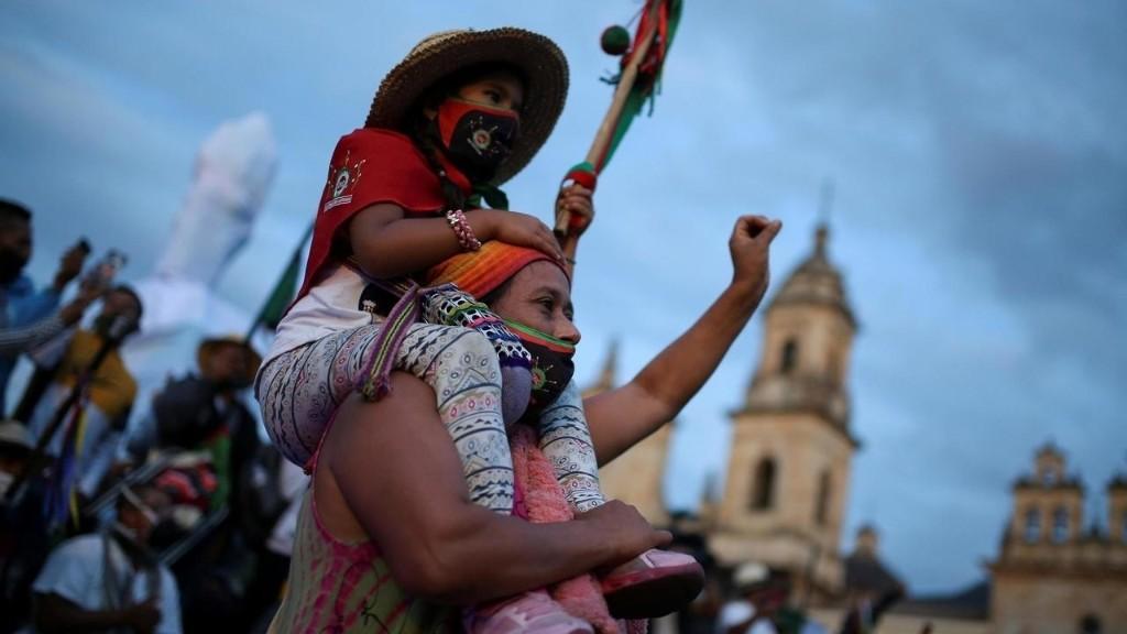 Colombie: les Indiens portent leurs revendications jusqu'au coeur de la capitale