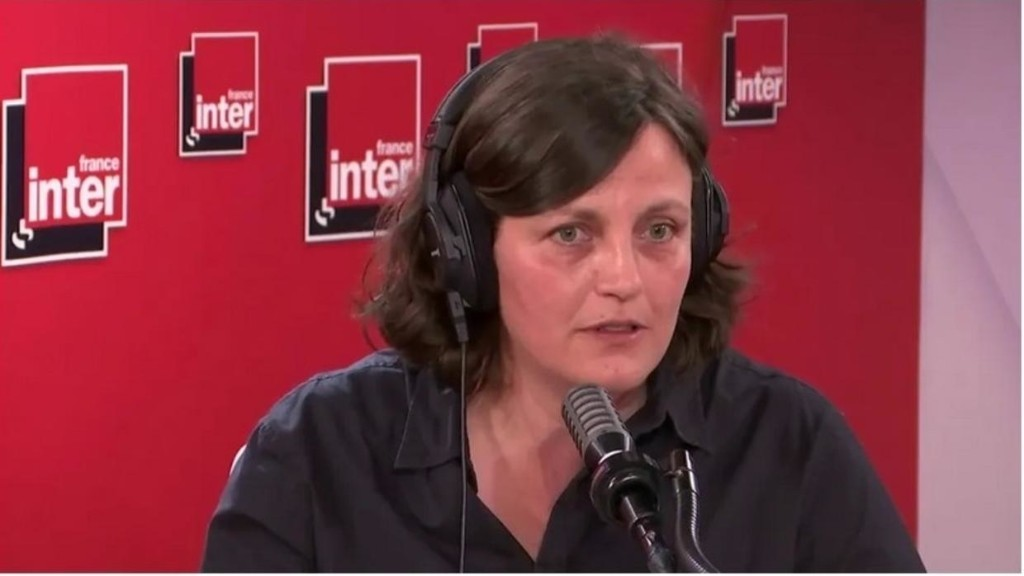 French book prize winner Anne Pauly says comedy helped her face father's death