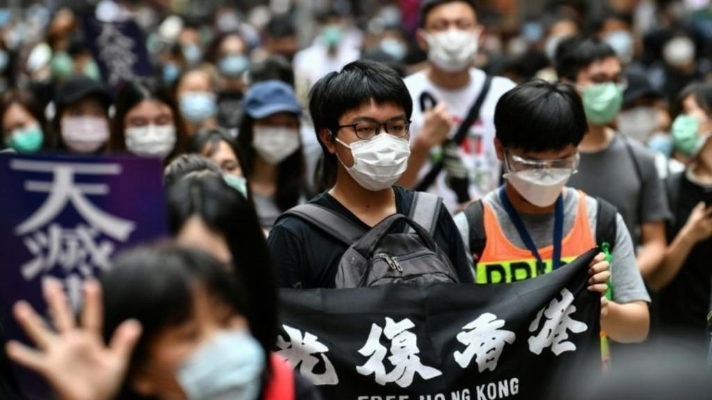 香港抗争再起 数以百计示威者齐聚铜锣湾游行 – 法国国际广播电台 - RFI