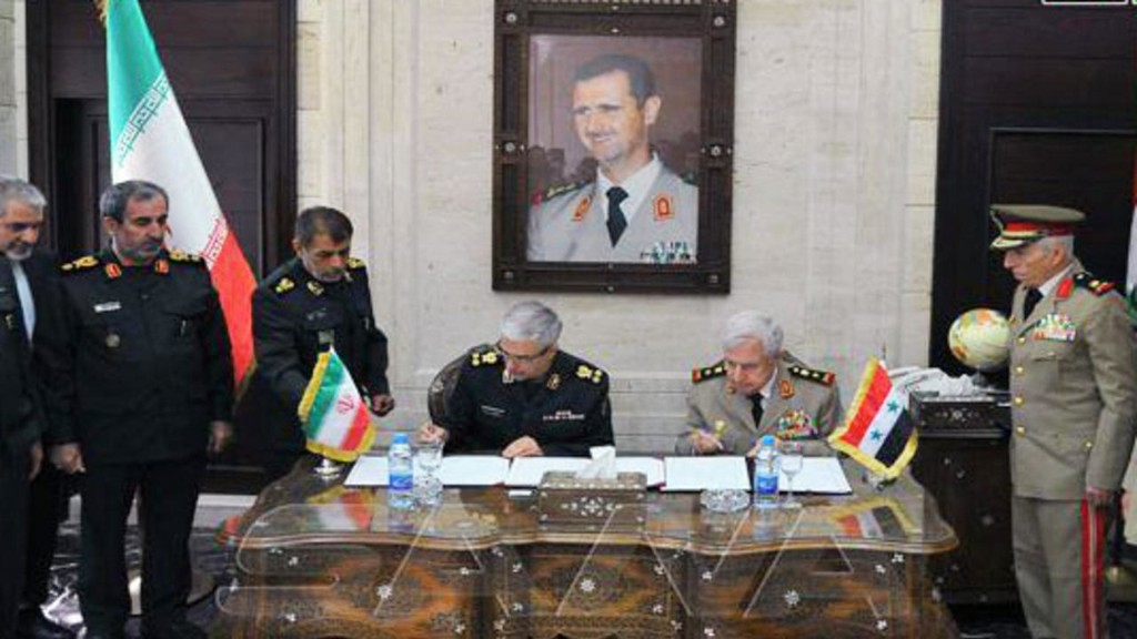 ایران و سوریه یک توافقنامۀ جامع نظامی امضا کردند؛ هشدار به ترکیه
