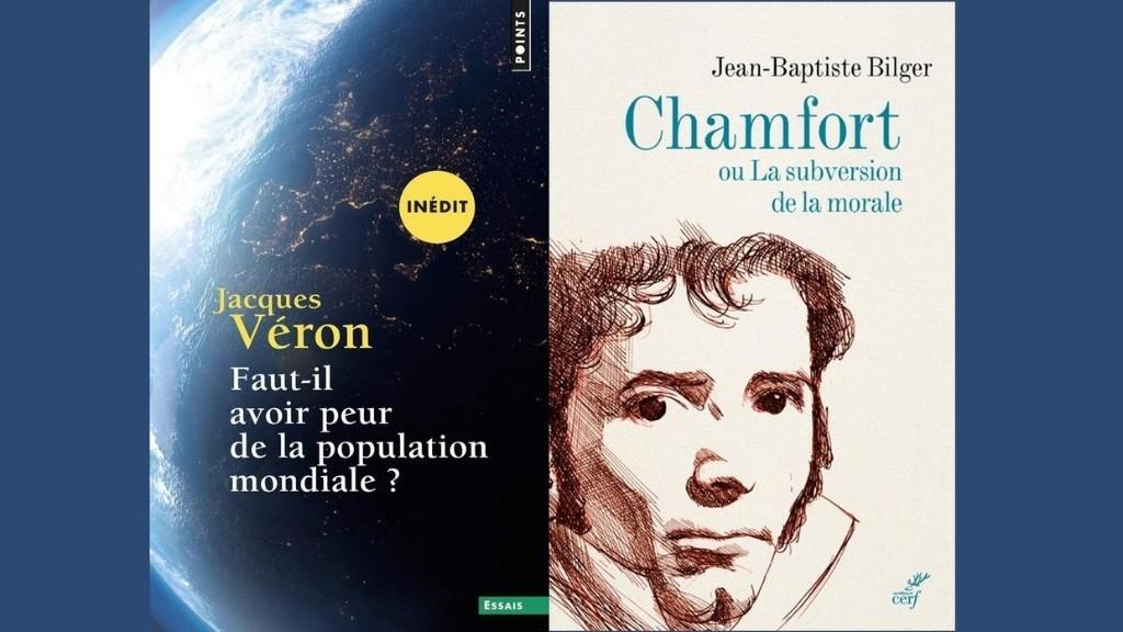 Idées - Jacques Véron, démographe et Jean-Baptiste Bilger, pour sa biographie de Chamfort