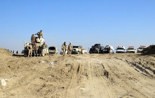 L'armée irakienne s'enlise face au groupe Etat islamique à Ramadi