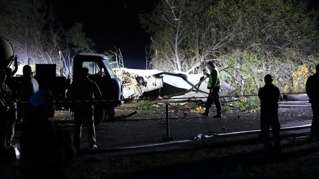 Ukraine: 26 morts dans le crash d'un avion militaire, la piste d'une panne de moteur évoquée