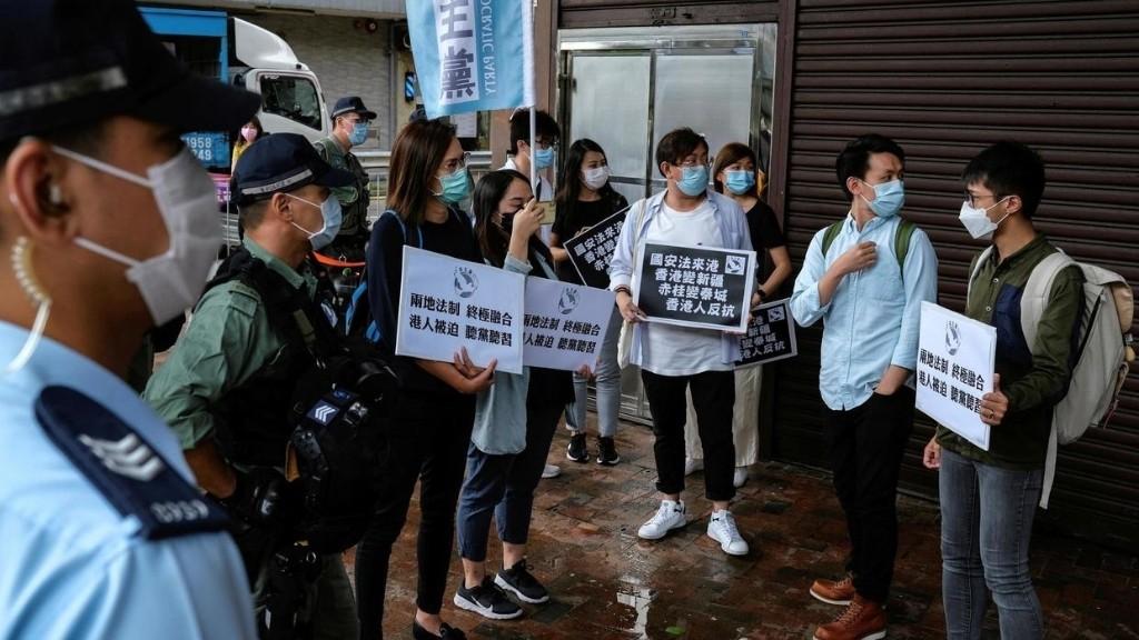 """港府要求公务员有担当执行""""香港国安法"""""""