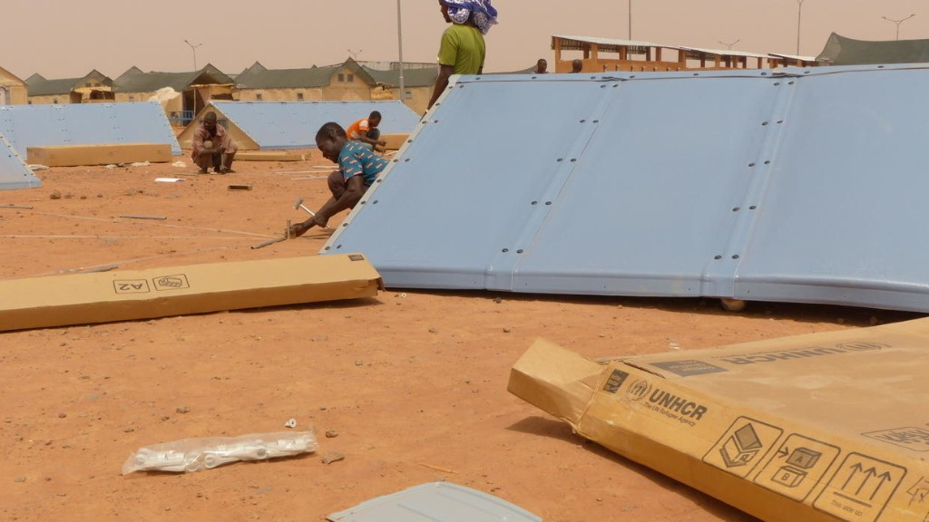 Portraits de jeunes Érythréens «réinstallés» par le HCR en France «via» le Niger