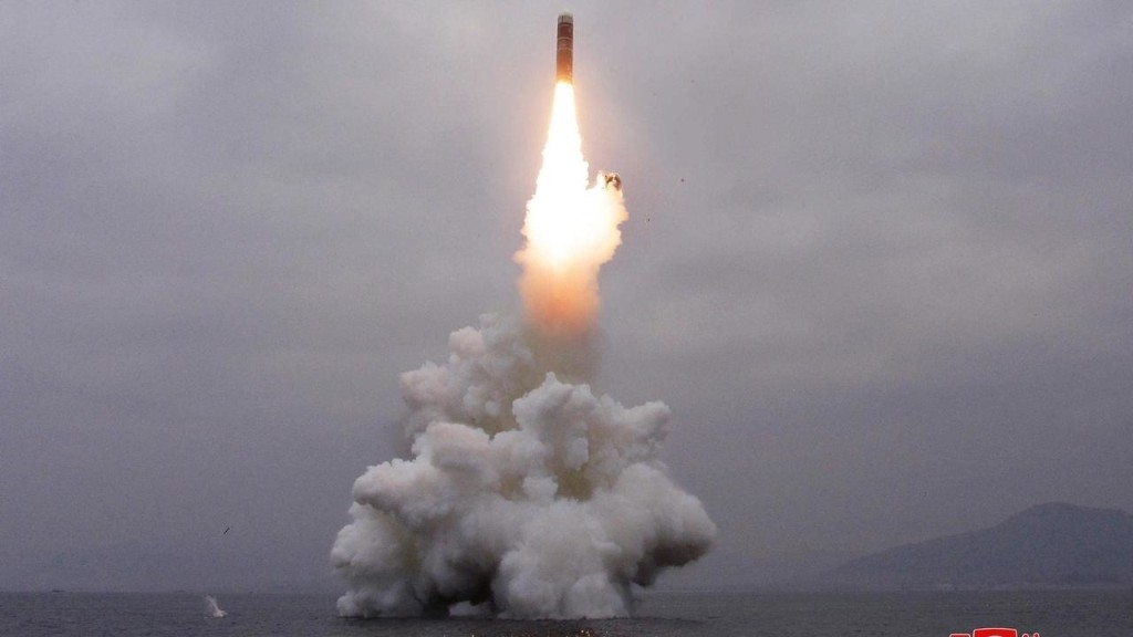 North Korea claims successful launch of 'new' submarine-based missile