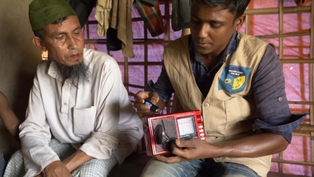 International media - Community radio serves Rohingya refugees in Cox's Bazaar